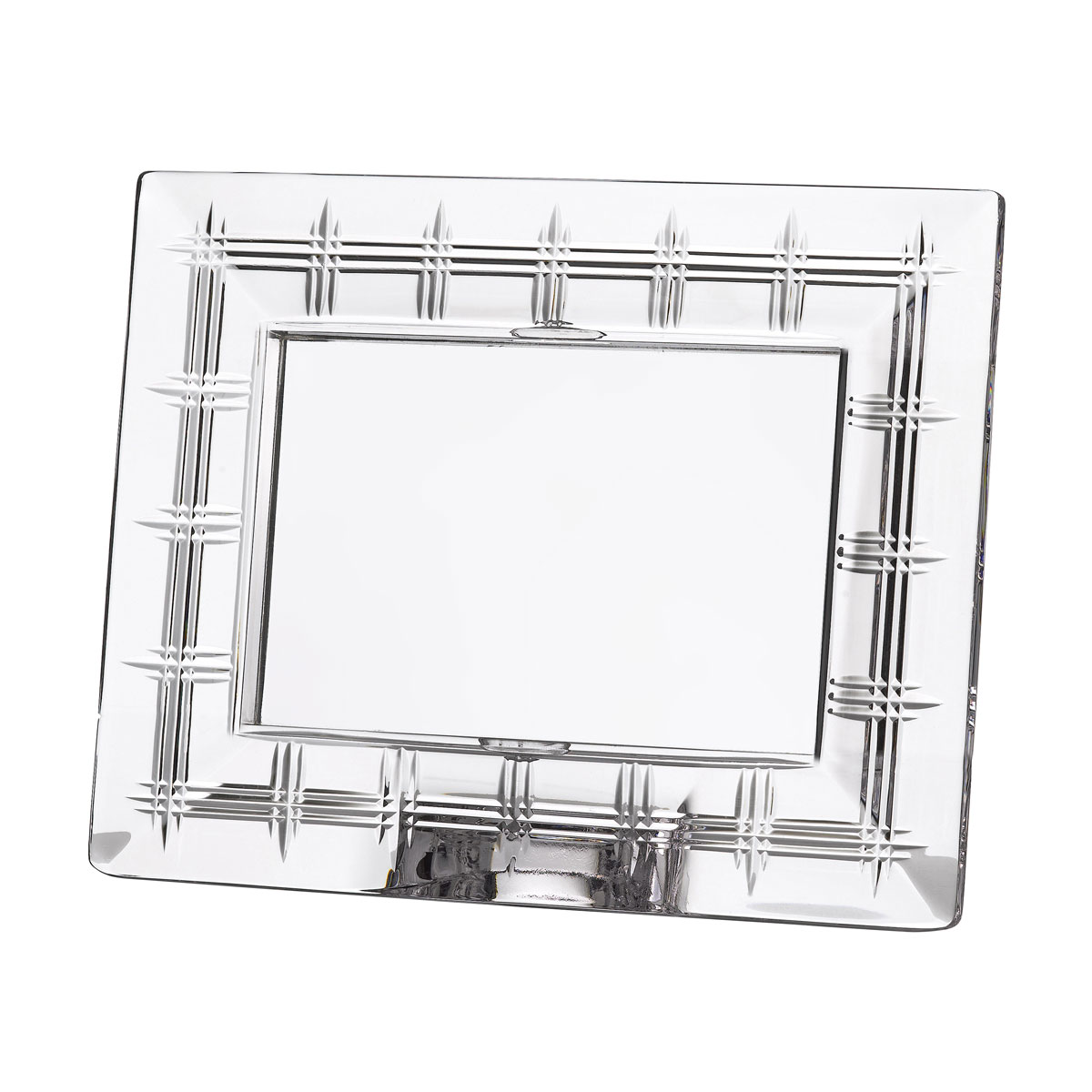 """Marquis by Waterford Crosby 4x6"""" Picture Frame, Horizontal"""