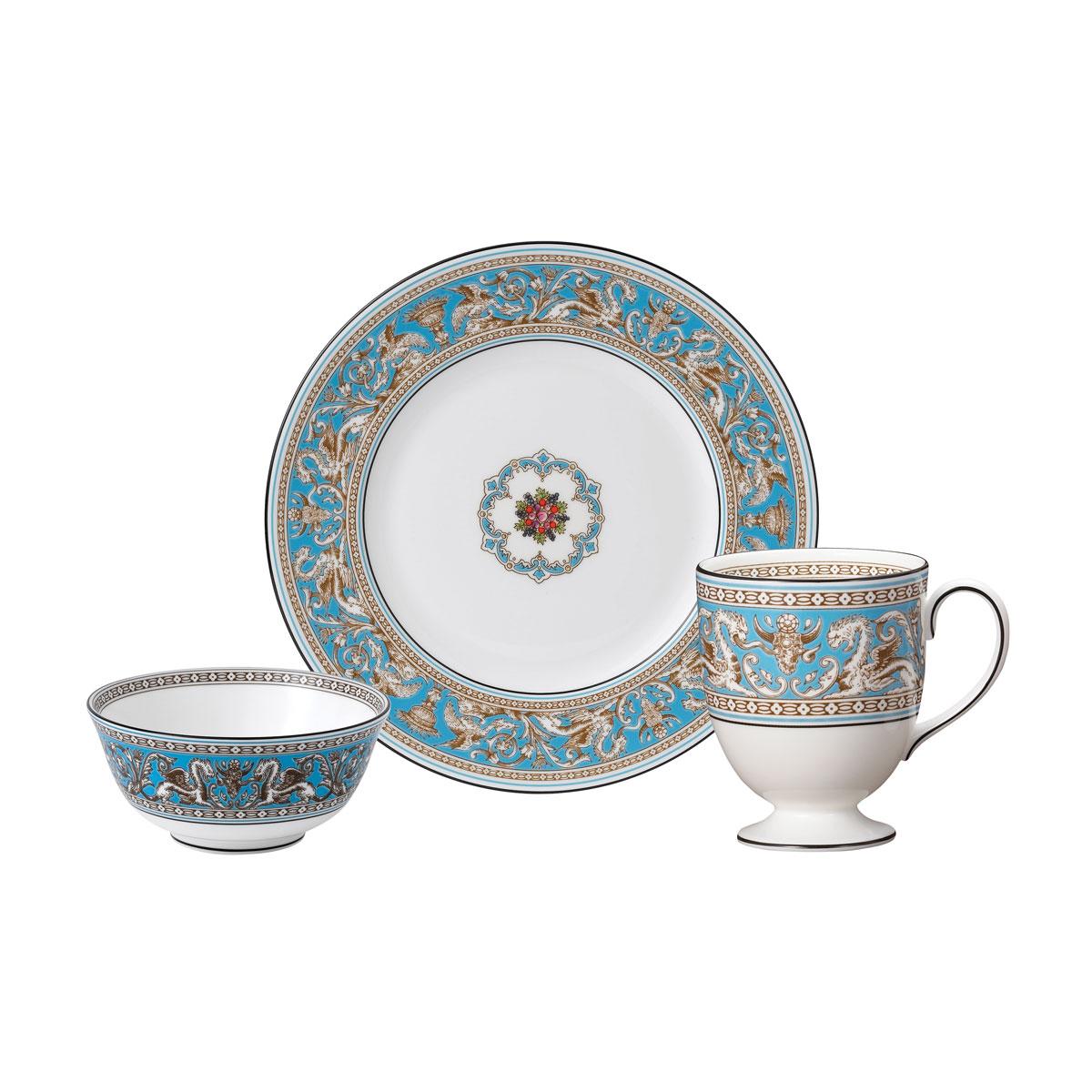 Wedgwood Florentine Turquoise Dining Set