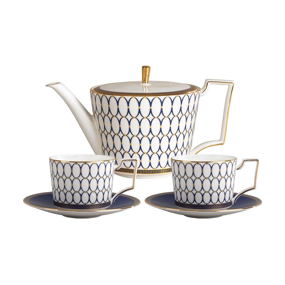 Wedgwood Renaissance Gold Tea Set