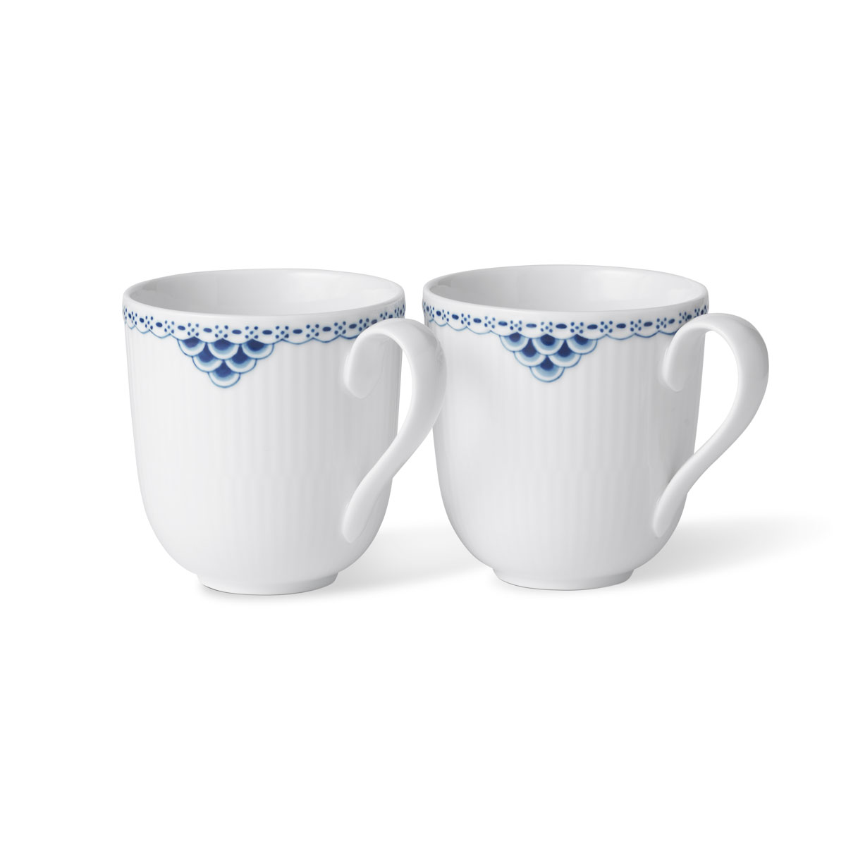Royal Copenhagen Princess Mug Pair
