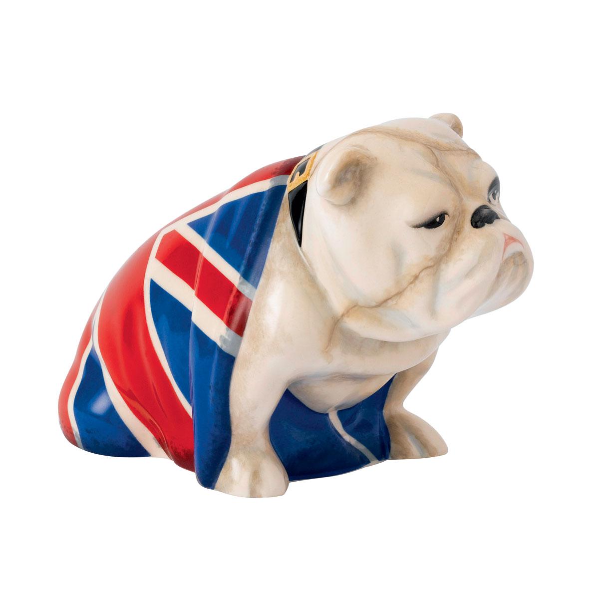 "Royal Doulton Jack the Bulldog from James Bond ""No Time to Die"" Movie, DD 007 B"