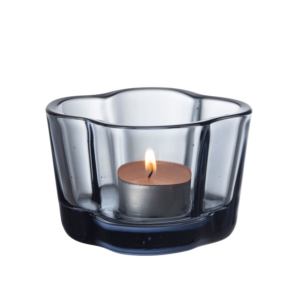 """Iittala Aalto Tealight Candleholder 2.25"""" Recycled Edition"""
