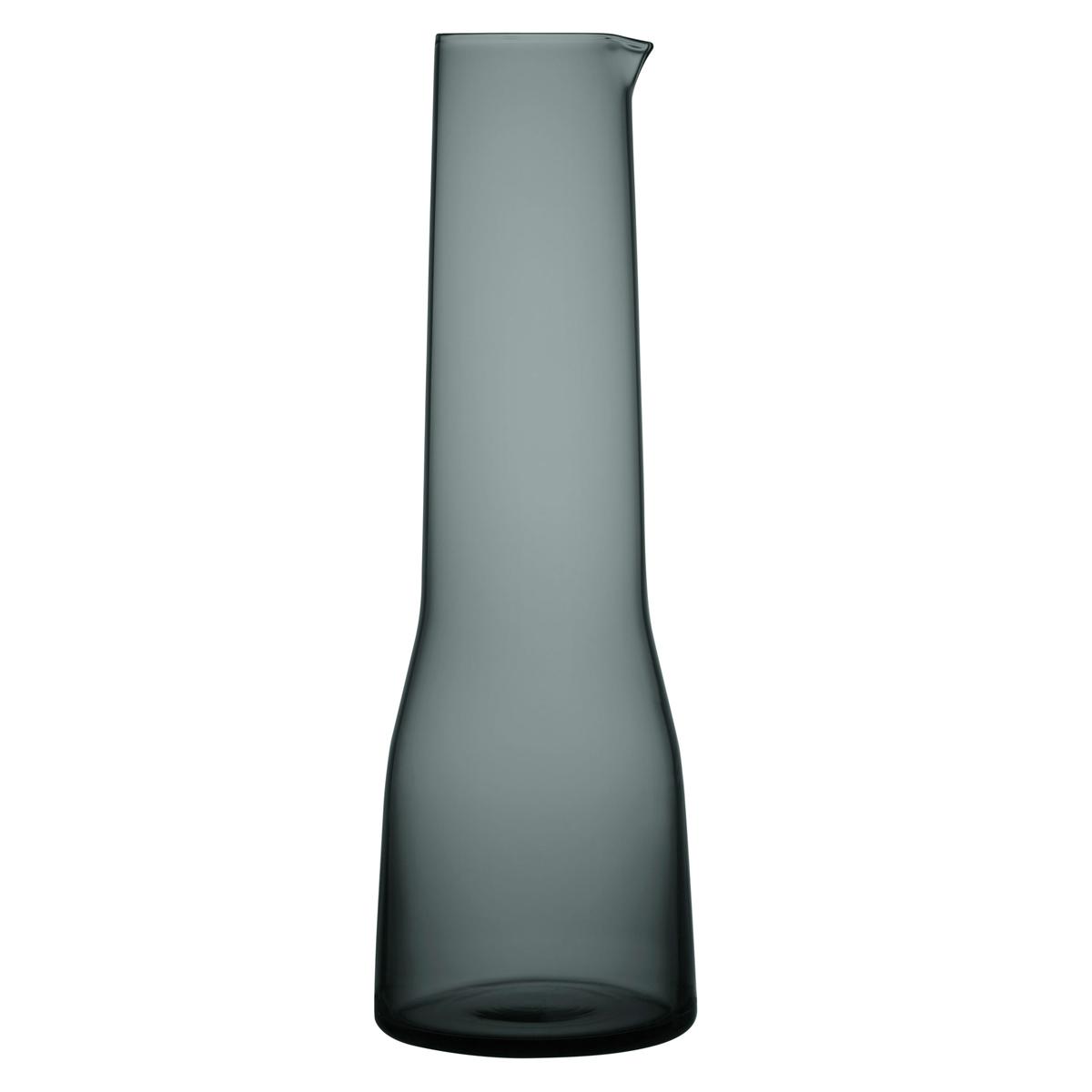 Iittala Essence Decanter 1.2 Qt Dark Grey