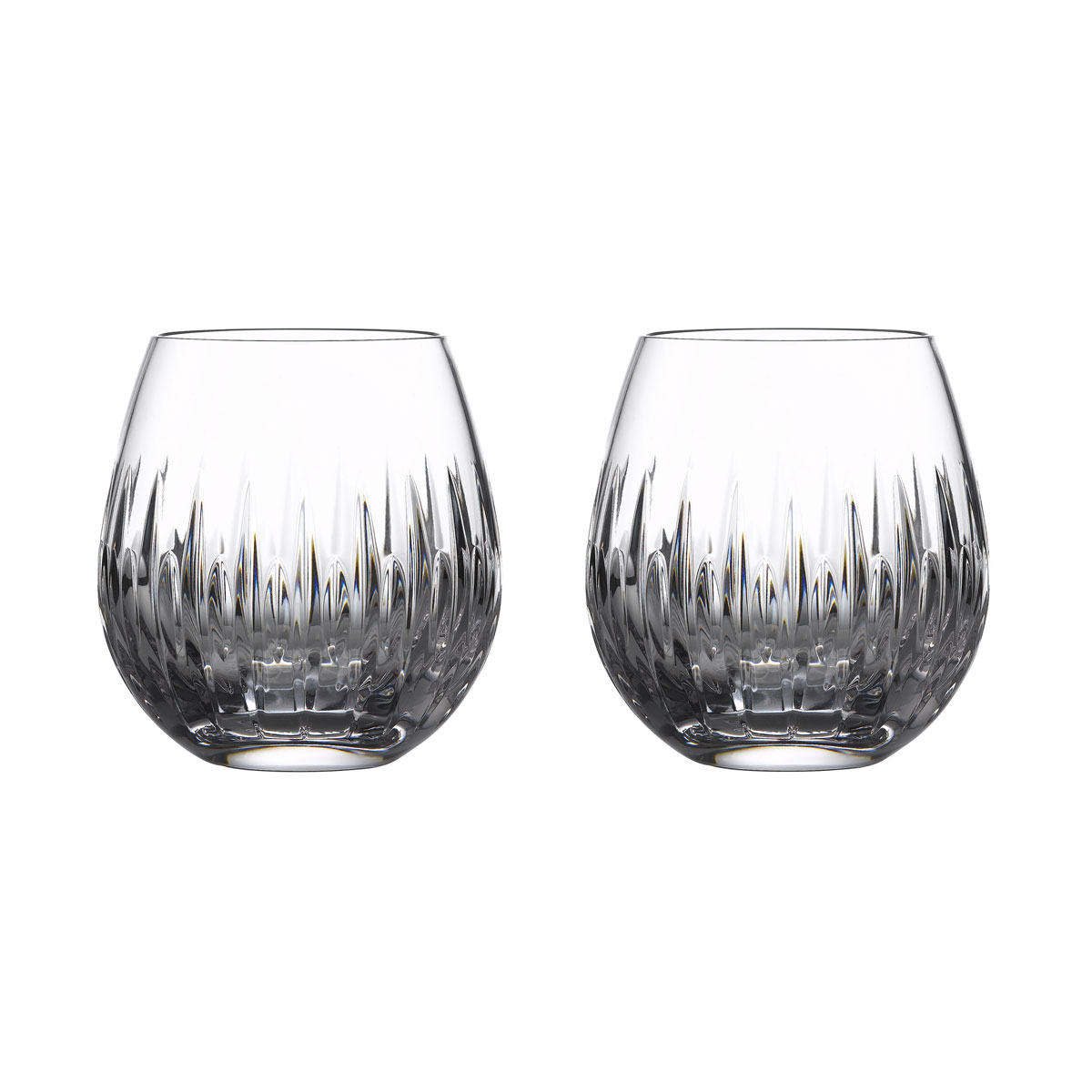 Waterford Crystal Ardan Mara Stemless Wine Pair