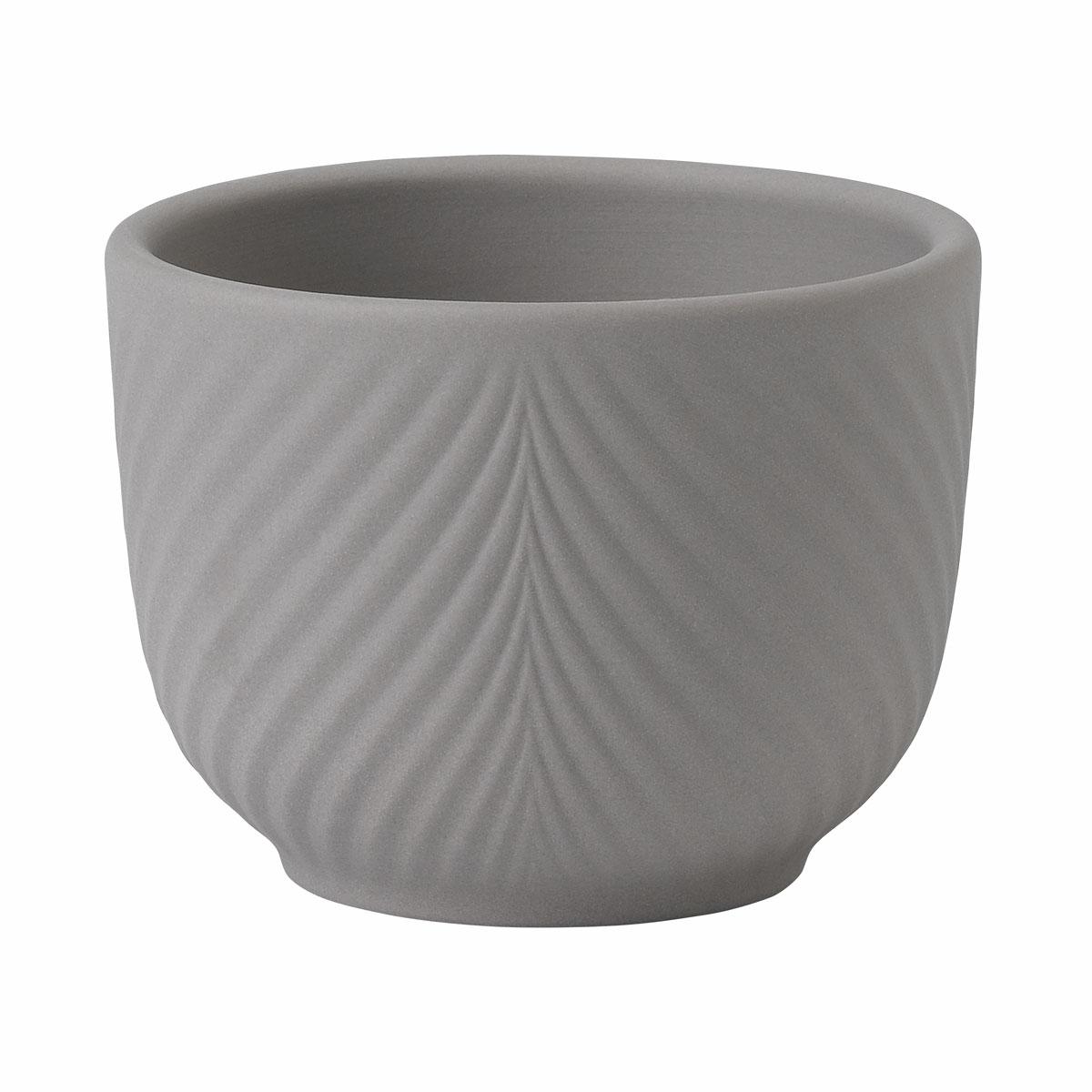 """Wedgwood Folia Jasper Mini Pot Mink 2.5"""""""