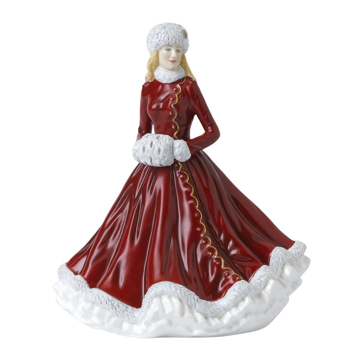 Royal Doulton Christmas Cheer Pettite Of The Year 2021