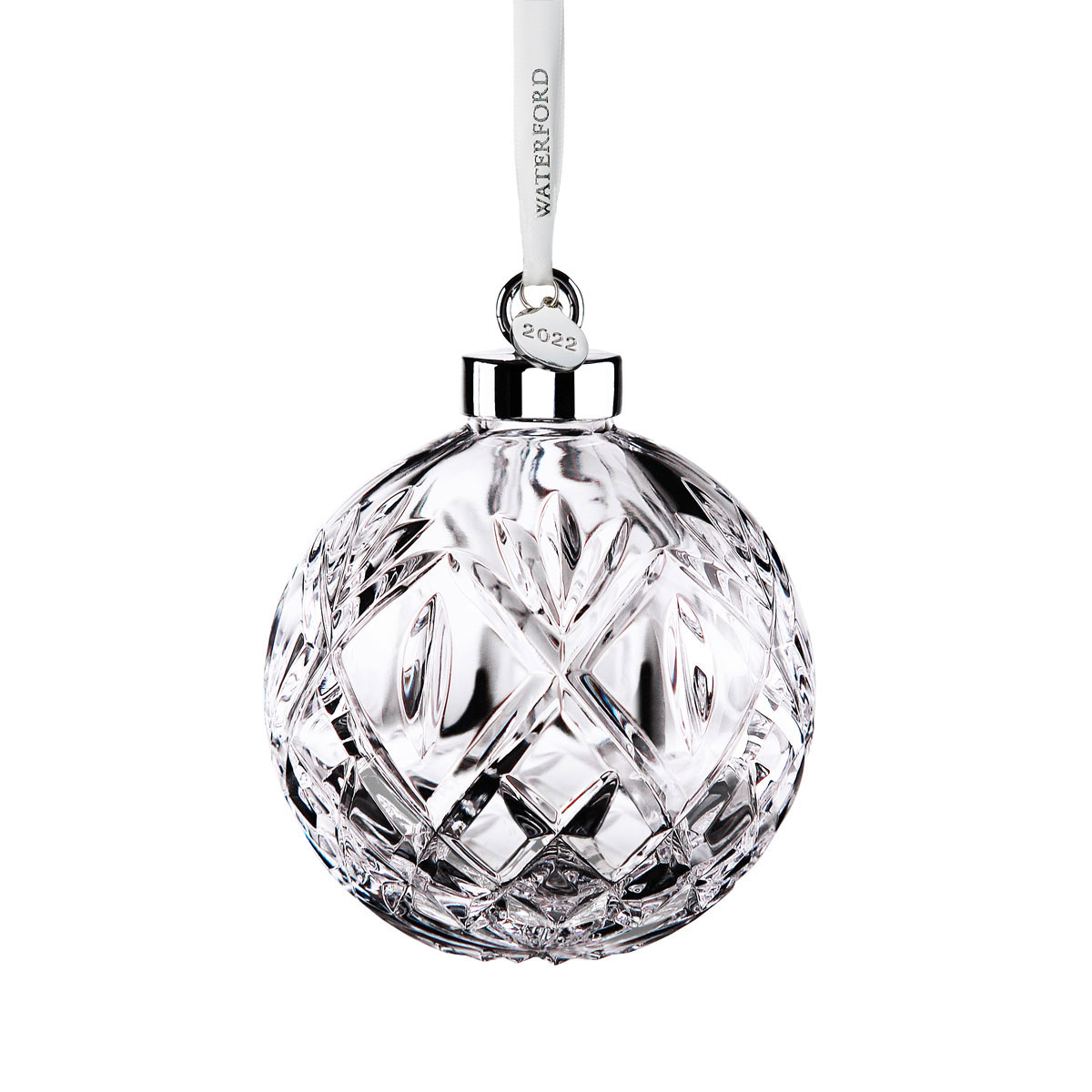 Crystal Christmas Ornaments 2020 Waterford Crystal 2020 Huntley Ball Ornament, Limited Edition