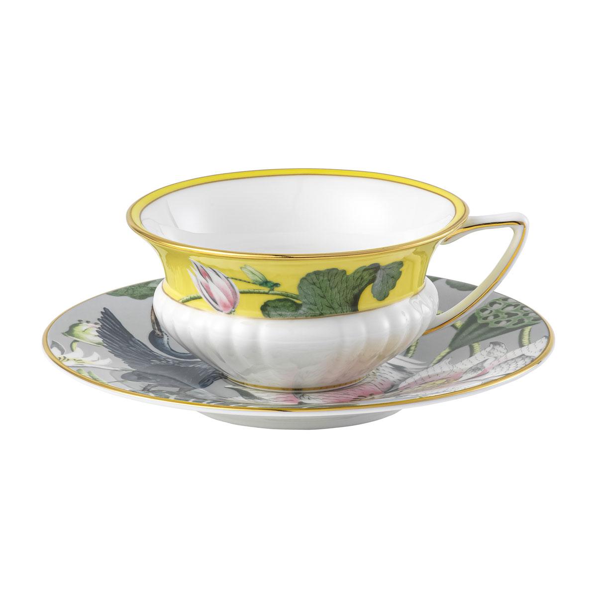 Wedgwood Wonderlust Waterlily Teacup and Saucer