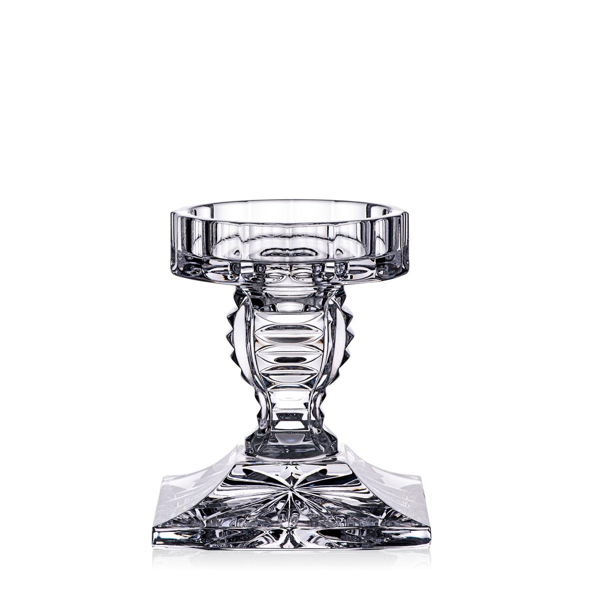 Waterford Crystal Wexford Pillar Candleholder, Single