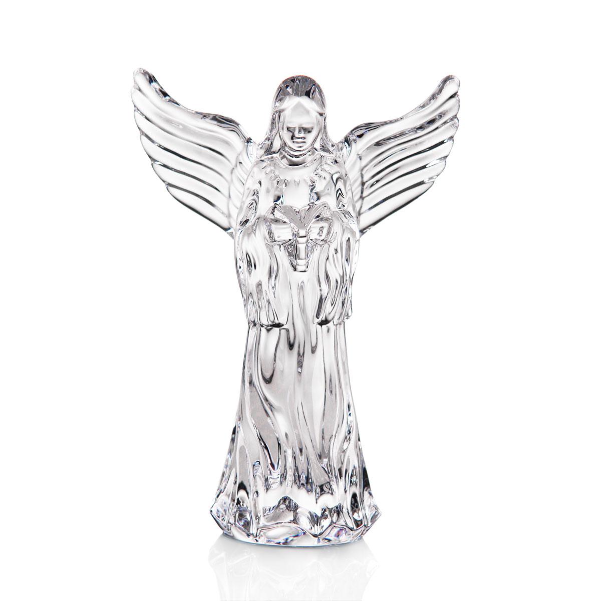 Waterford Crystal Caroling Angel Sculpture
