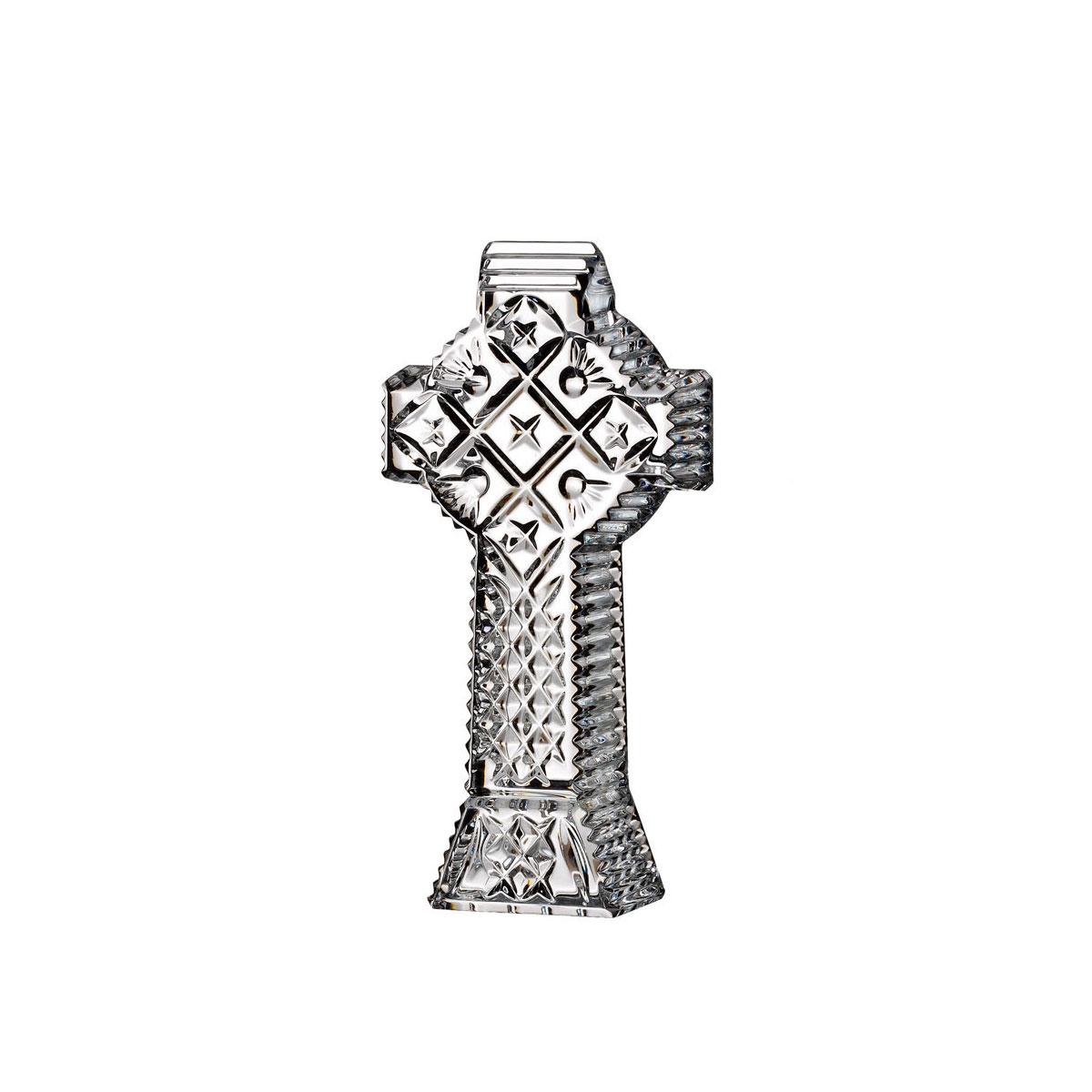 "Waterford Crystal Celtic 5.5"" Cross"
