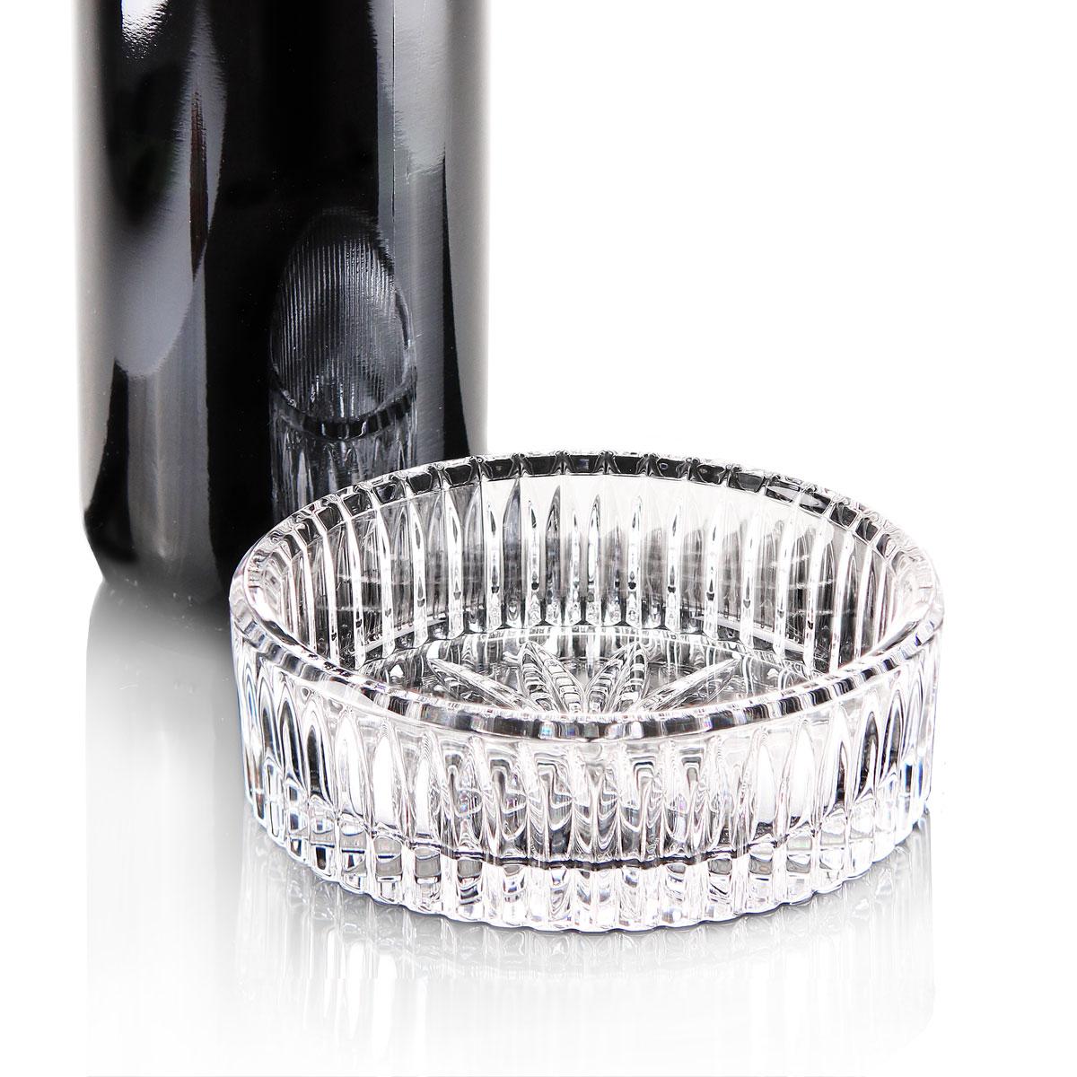 Waterford Crystal Somerset Wine Bottle Coaster