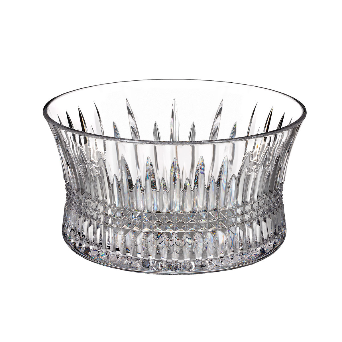 "Waterford Lismore Diamond 10"" Crystal Bowl"