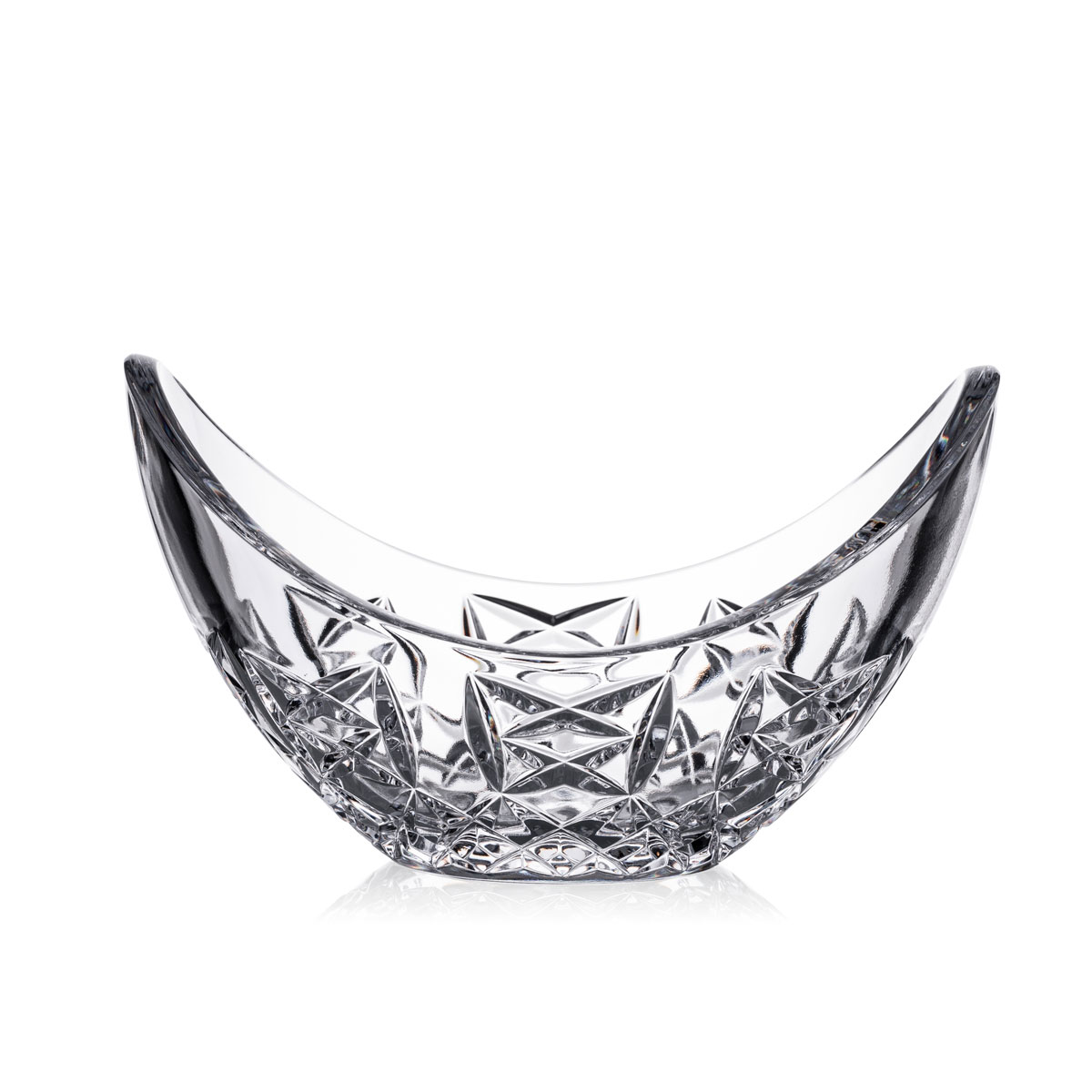 """Waterford Crystal Glengarriff 6"""" Curved Bowl"""