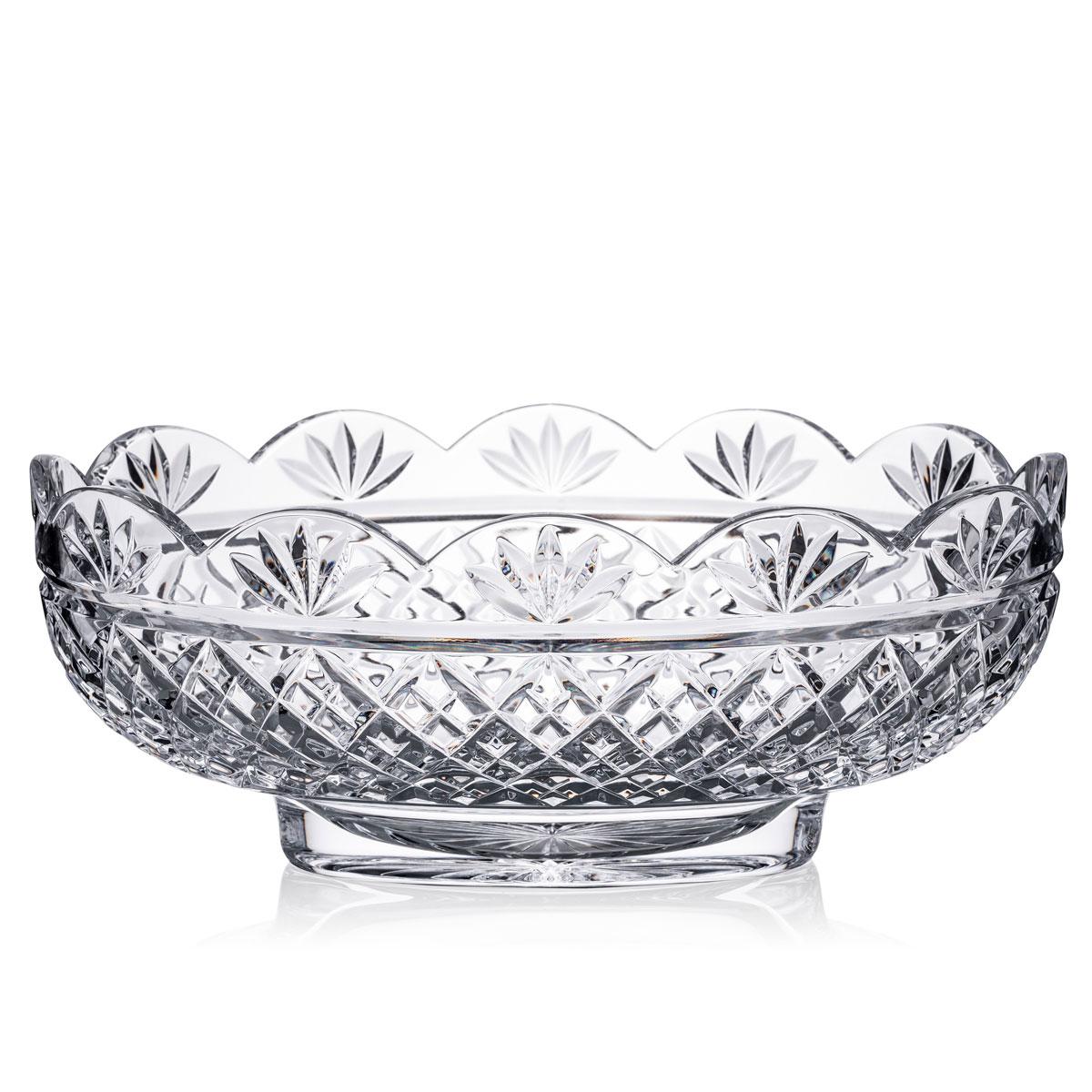 "Waterford Crystal Irish Treasures Oval 11"" Bowl"
