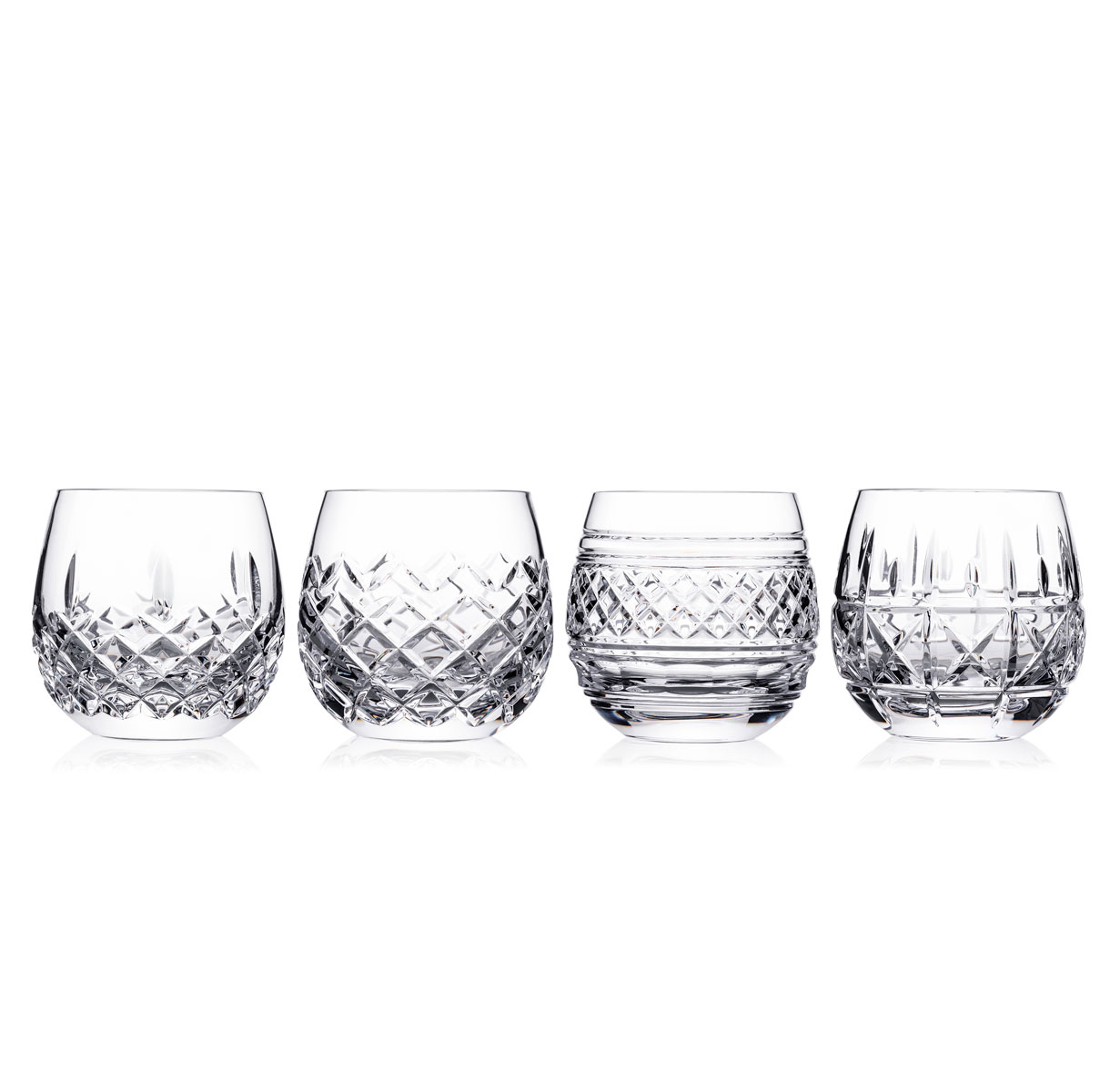 Waterford Crystal Castles DOF Glasses, Set of Four