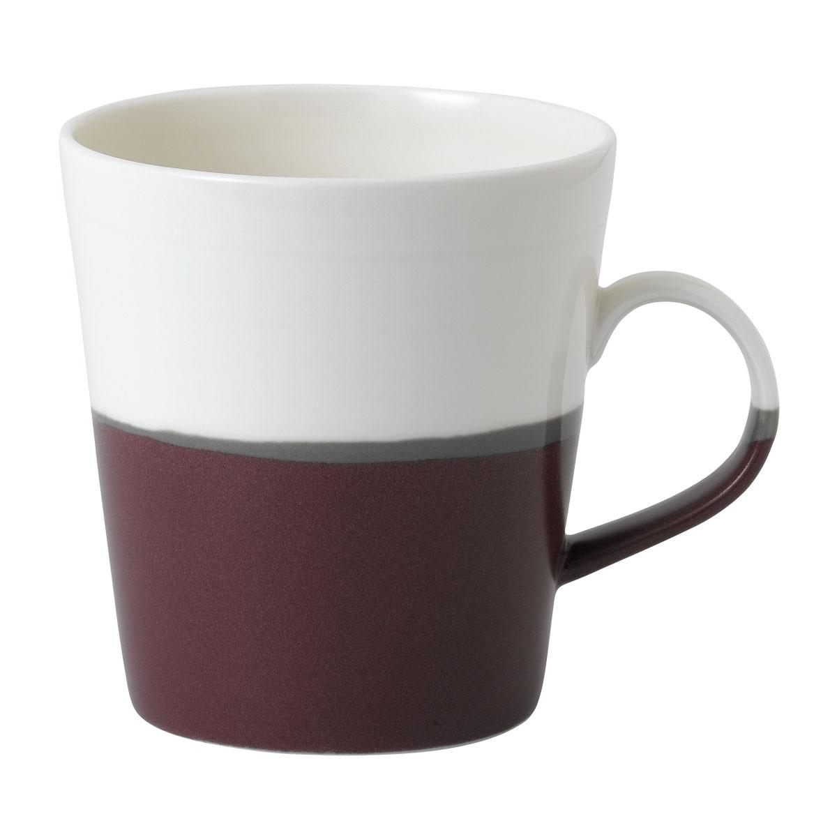 Royal Doulton Coffee Studio Grande Mug Plum, Single