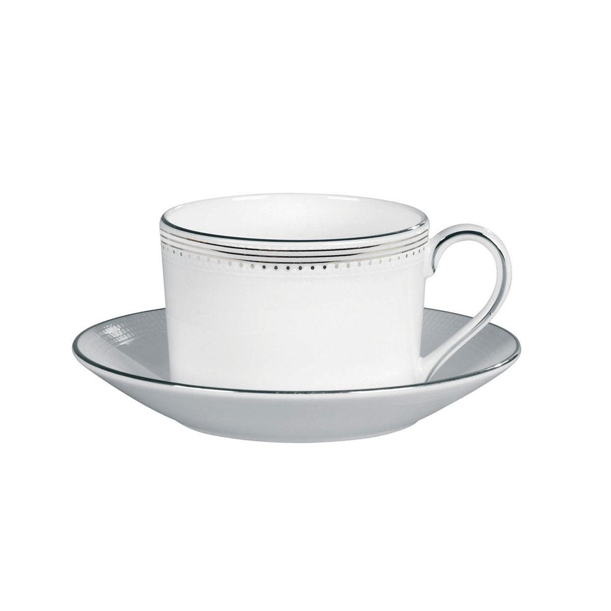 Vera Wang Wedgwood Grosgrain Teacup and Saucer