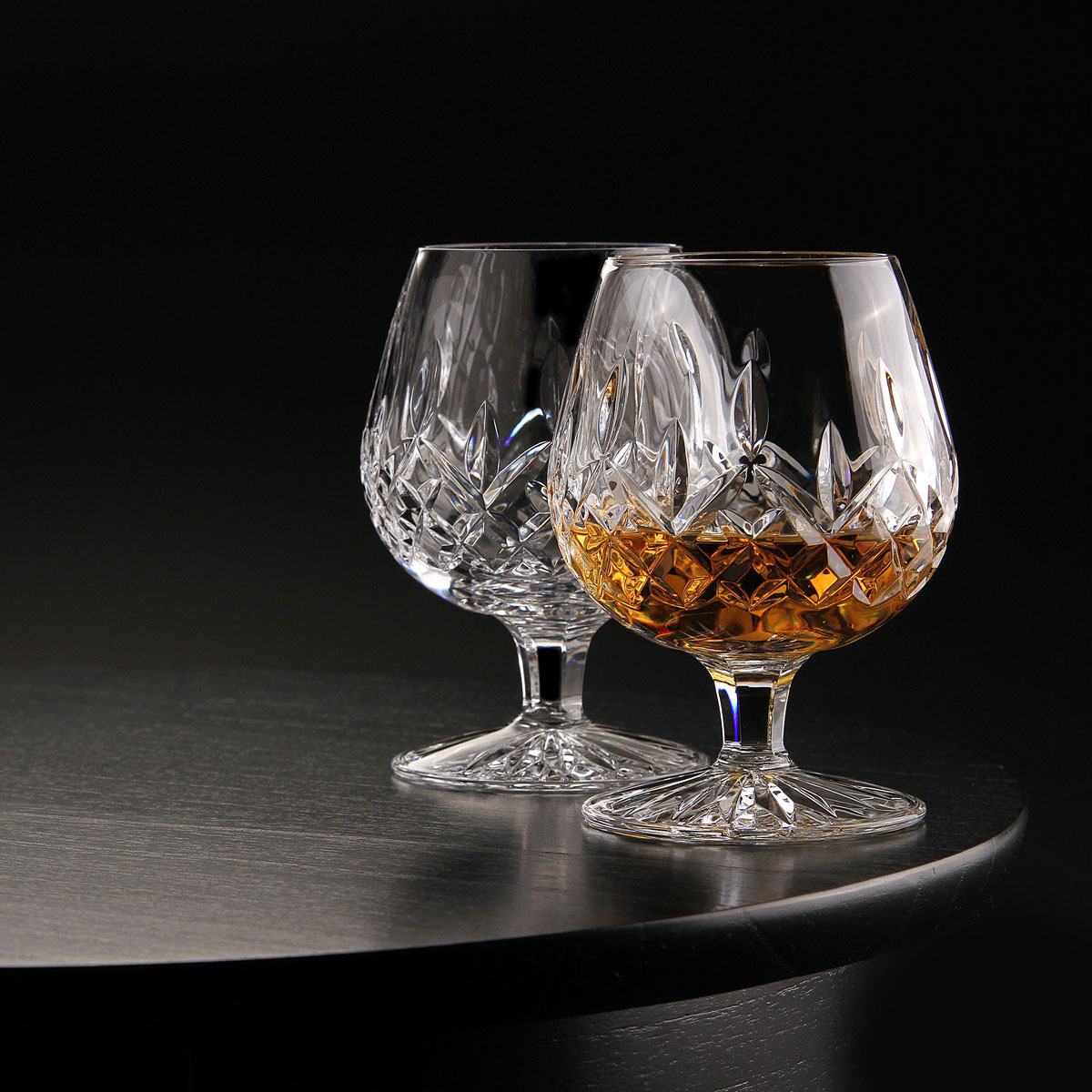 Waterford Crystal, Lismore Large Brandy, Pair