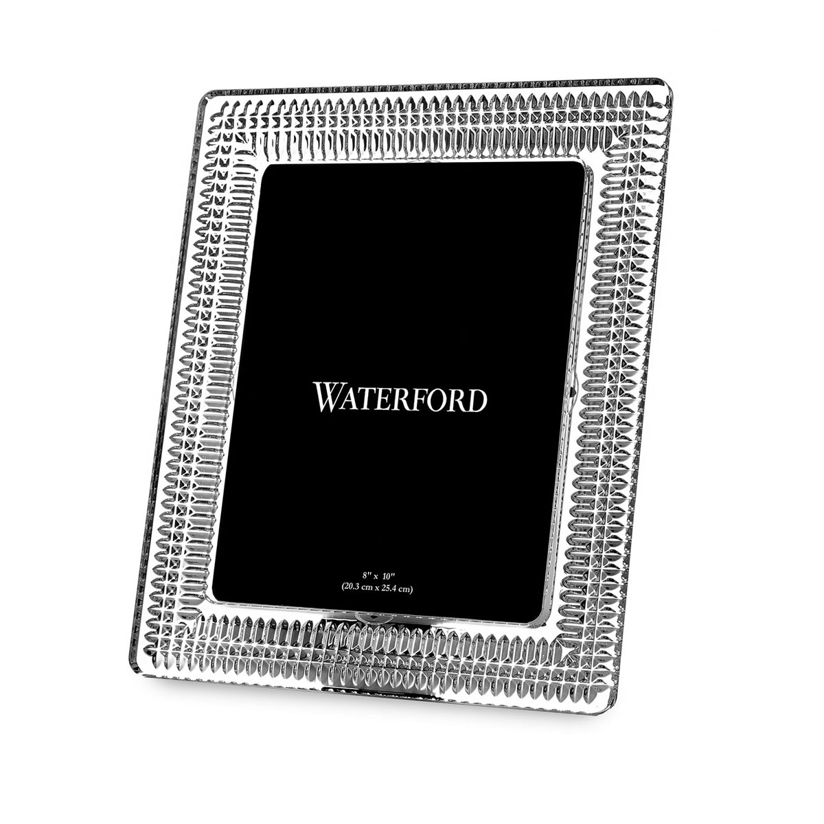 """Waterford Crystal, Lismore Diamond 8 x 10"""" Picture Frame"""