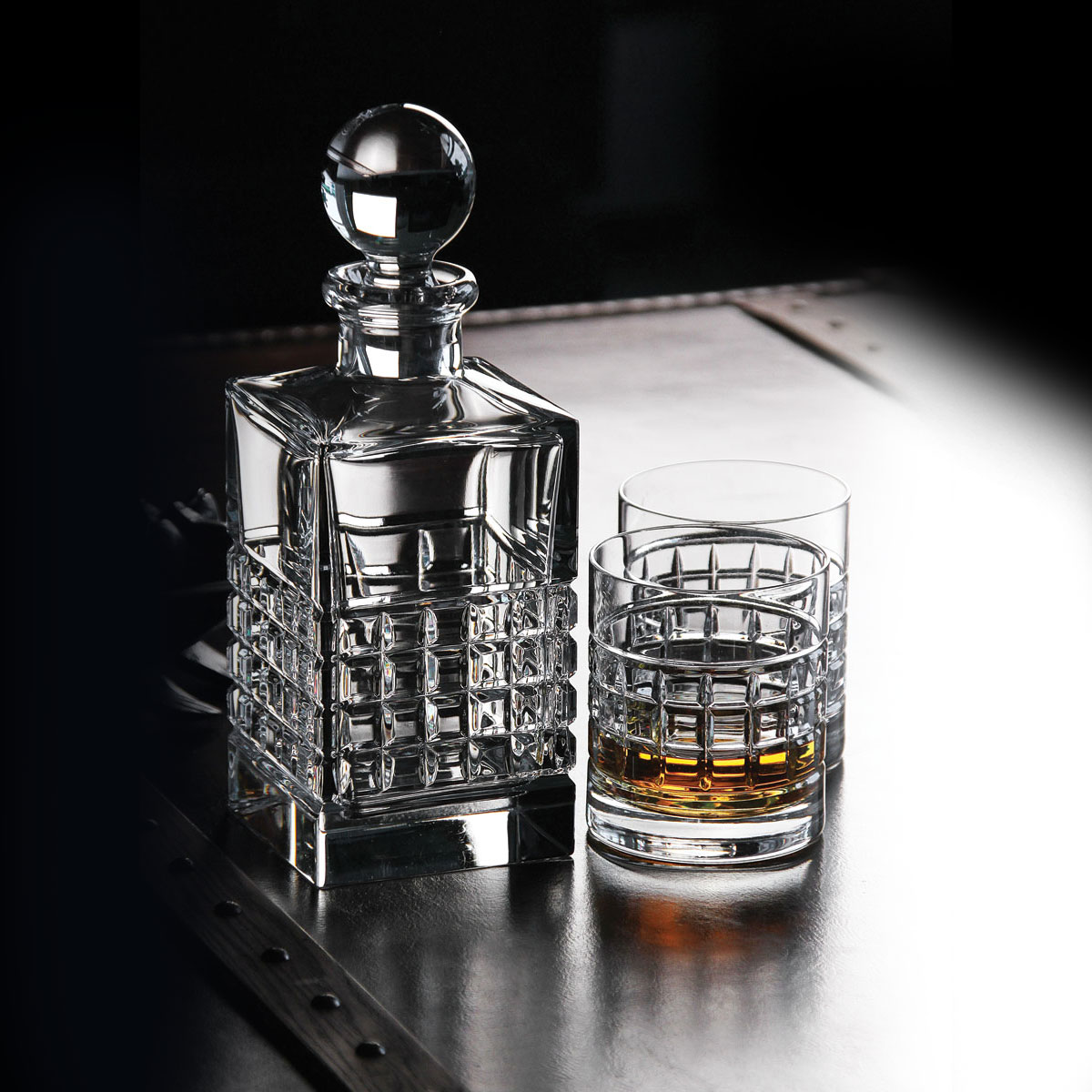 Waterford Jo Sampson Square Crystal Decanter, Clear