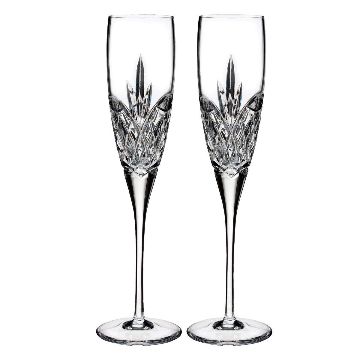 Waterford Crystal, True Love Forever Champagne Toasting Flutes, Pair