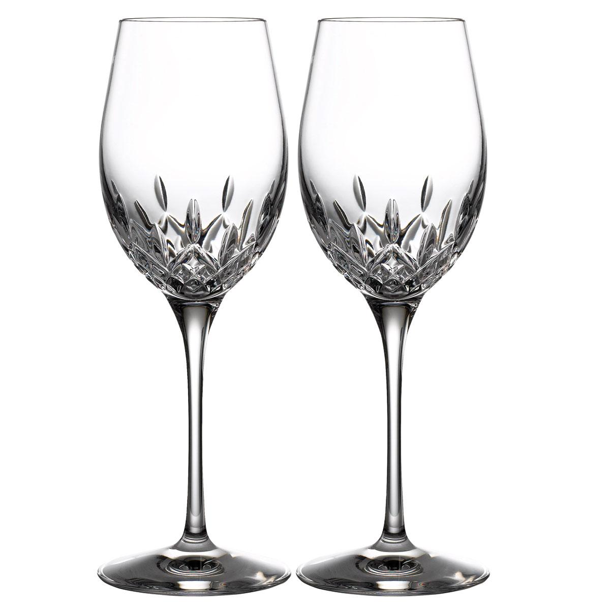 Waterford Crystal Lismore Essence White Wine, Pair
