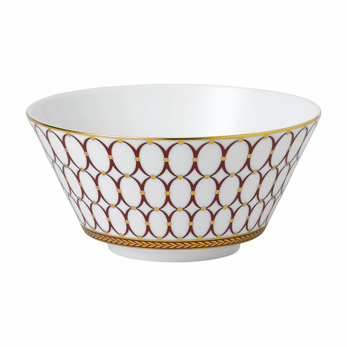 Wedgwood Renaissance Red Cereal Bowl