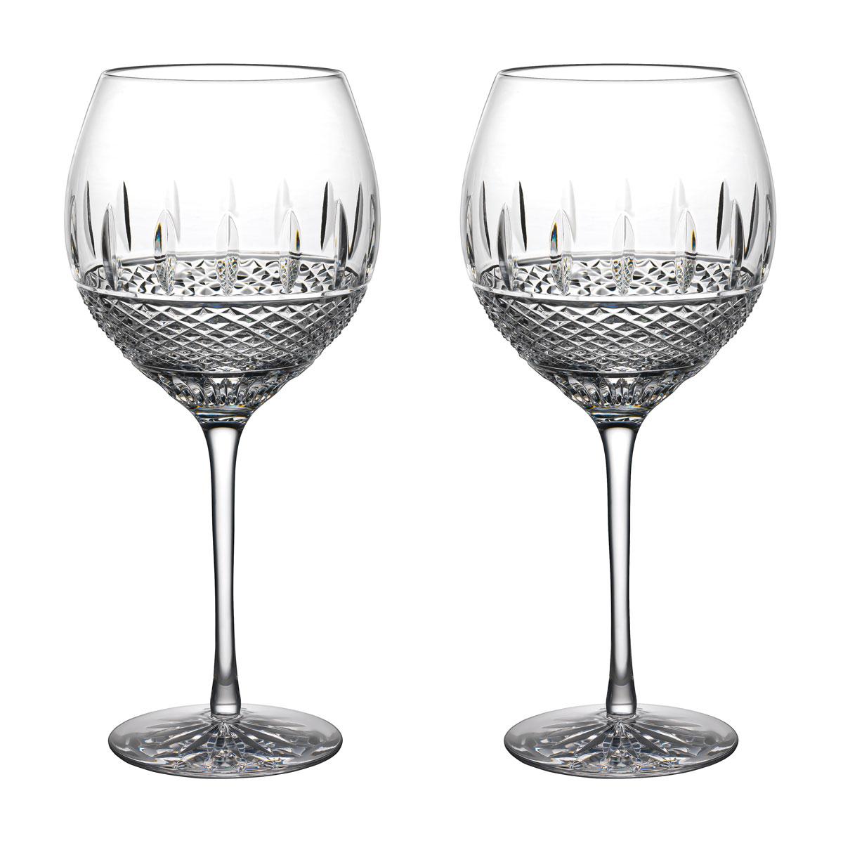 Waterford Master Craft Irish Lace White Wine Pair