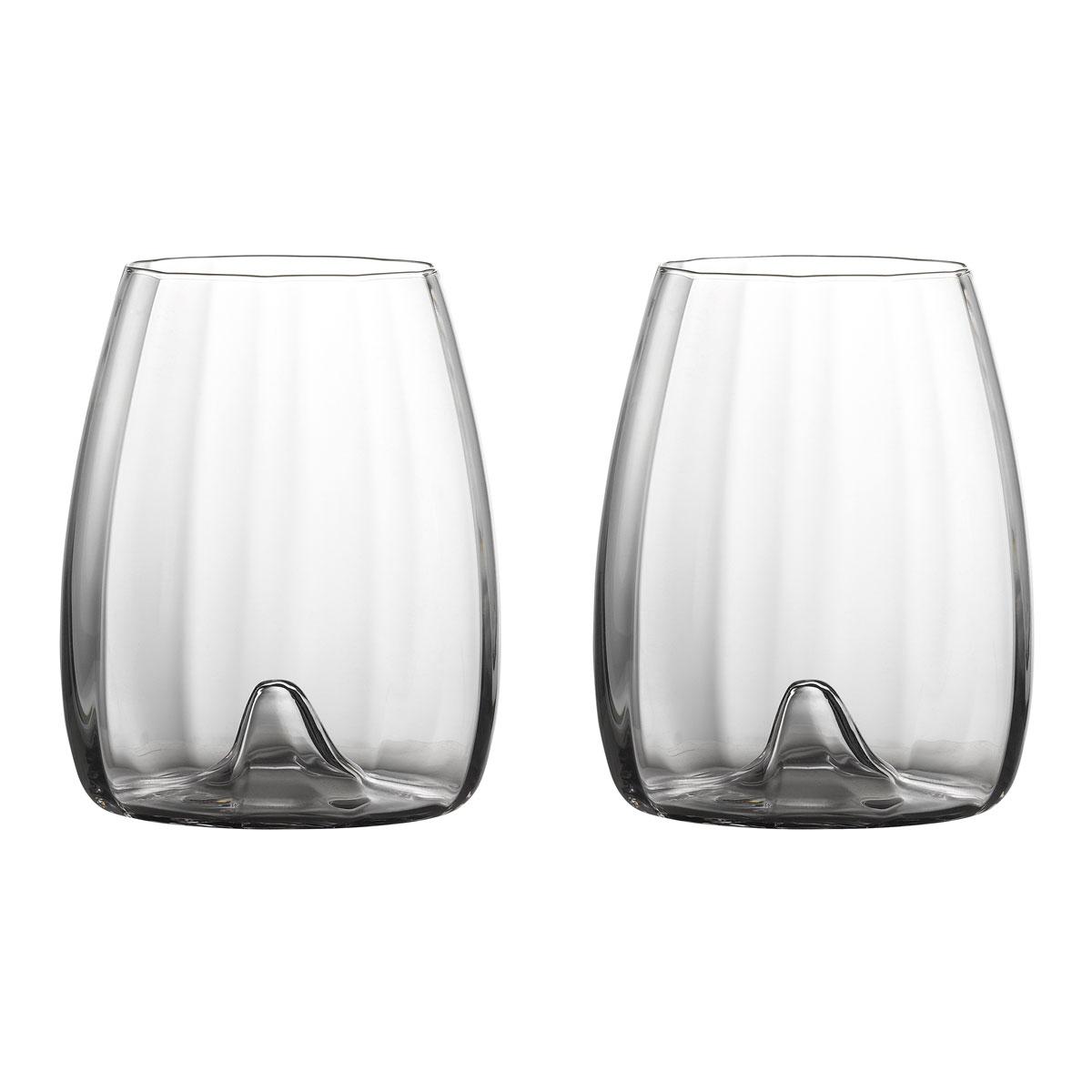 Waterford Elegance Optic Stemless Wine Pair