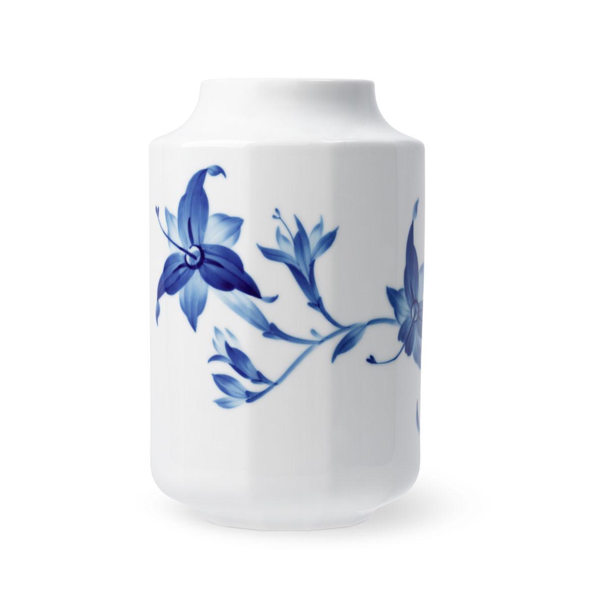 "Royal Copenhagen Blomst Open Vase Day Lily 7.5"""