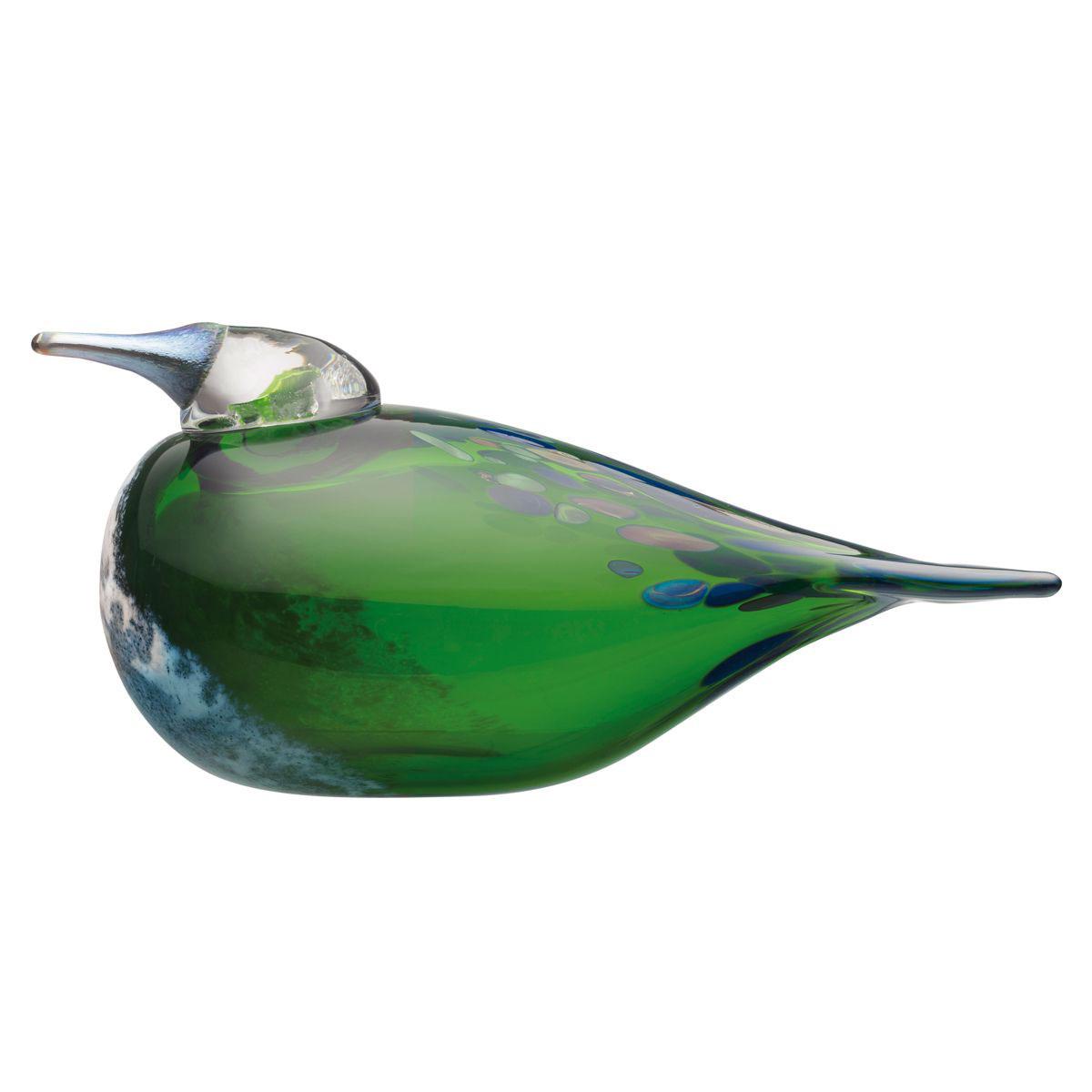 "Iittala Birds By Toikka Violet Green Swallow 8"""