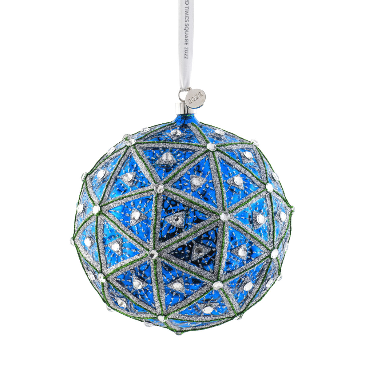 Waterford Crystal Times Square 2022 Gift of Wisdom Masterpiece Dated Ball Ornament