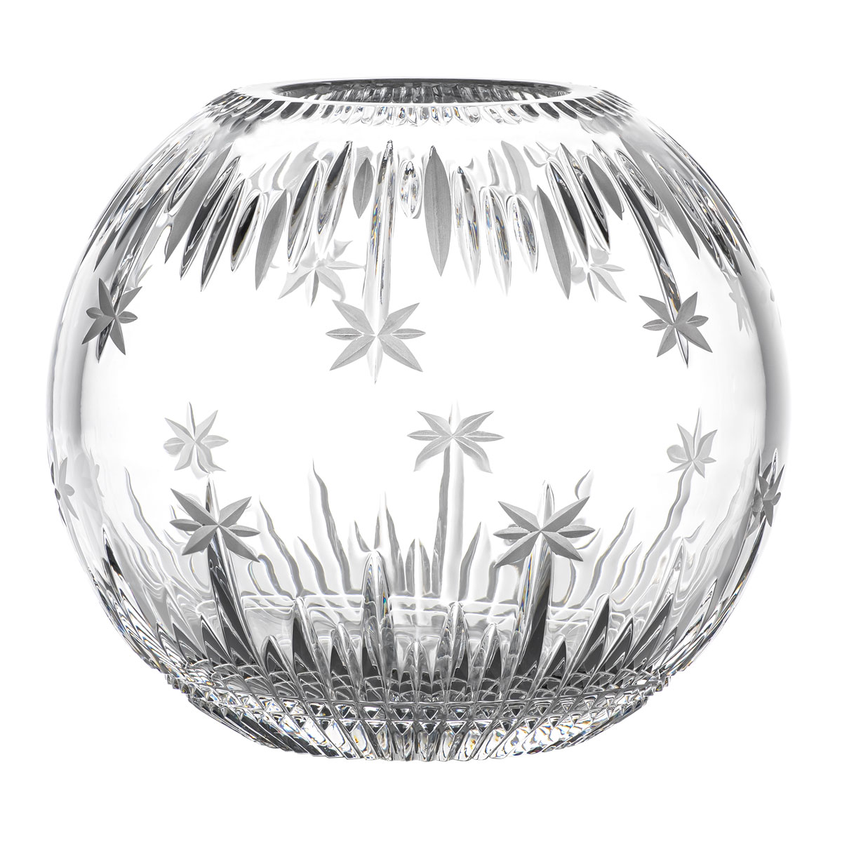 "Waterford Crystal 2021 Winter Wonders Rose Bowl 6"", Limited Edition"