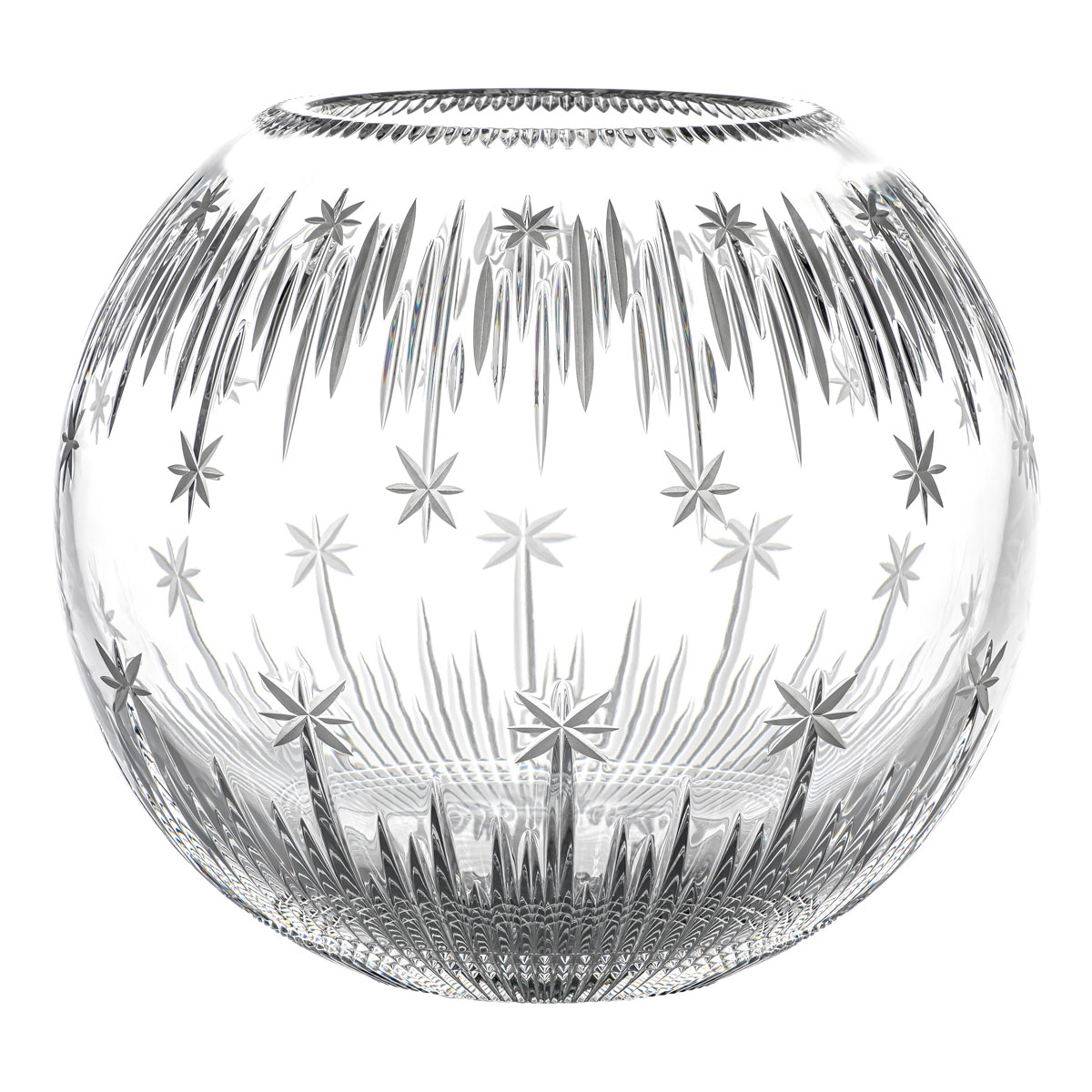"""Waterford Crystal 2021 Winter Wonders Rose Bowl 12"""", Limited Edition"""