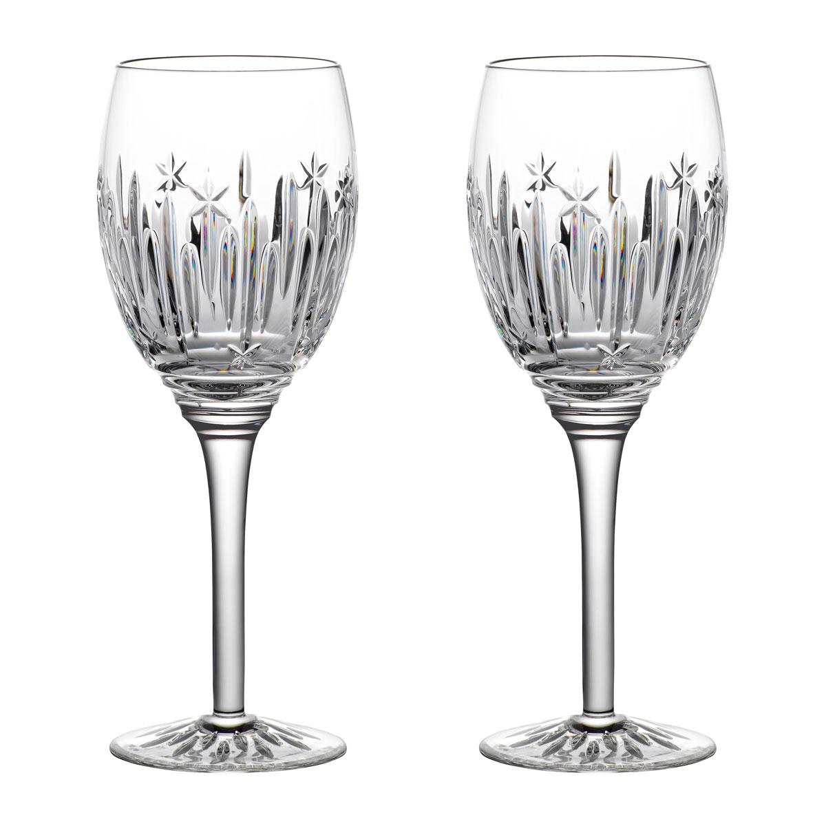 Waterford Crystal 2021 Winter Wonders Midnight Frost Wine Pair