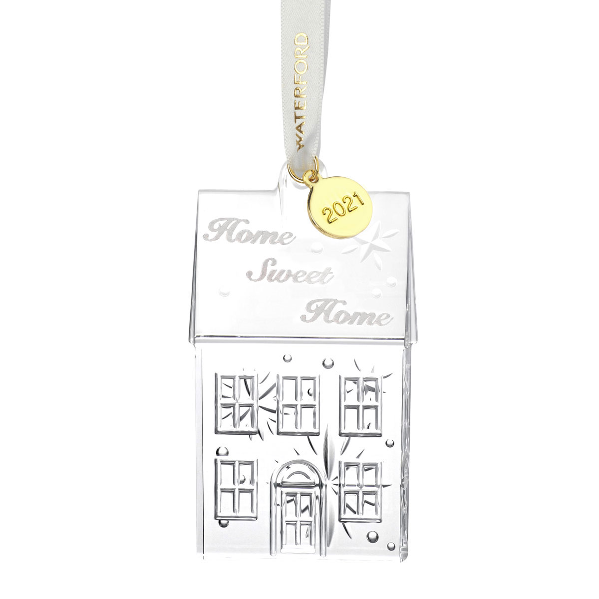 Waterford Crystal 2021 Home Sweet Home Dated Ornament