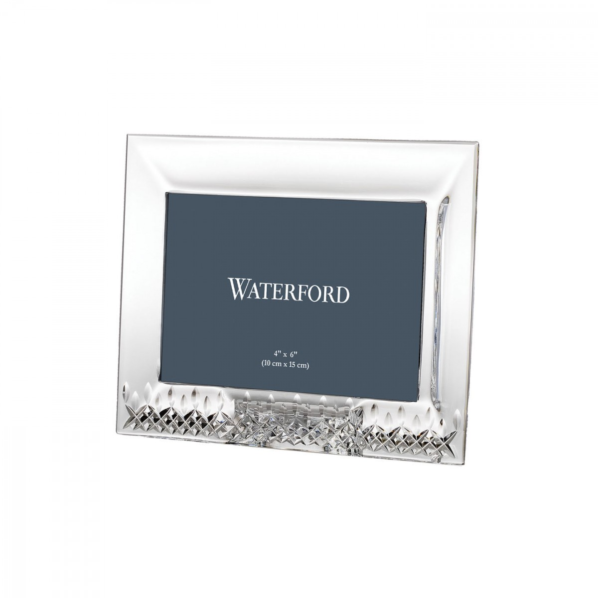 "Waterford Lismore Essence 4x6"" Picture Frame"