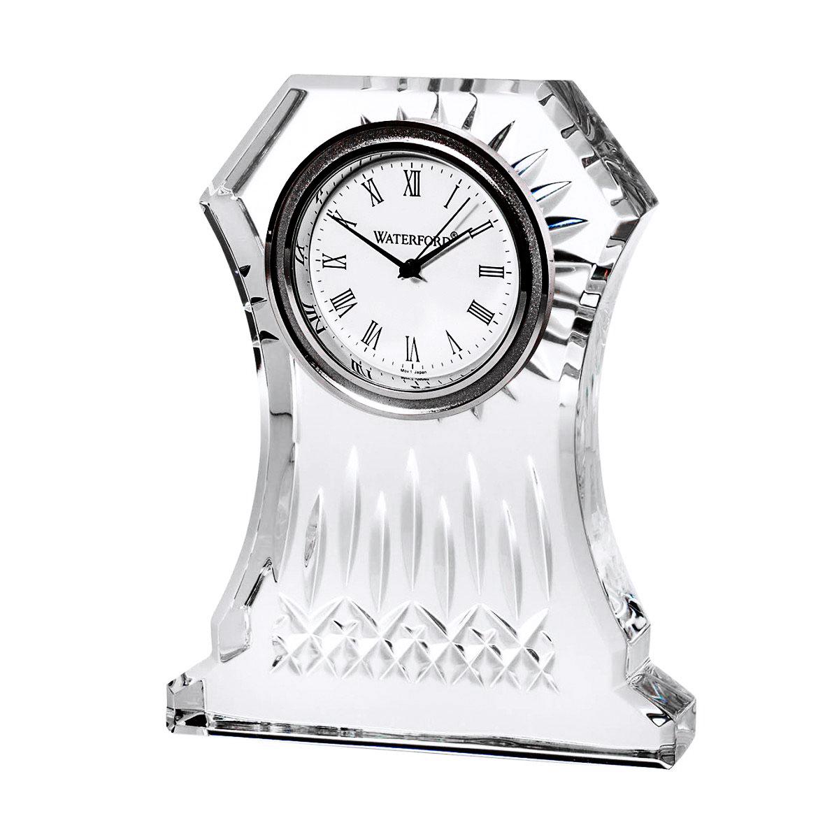 Waterford Lismore Large Crystal Clock