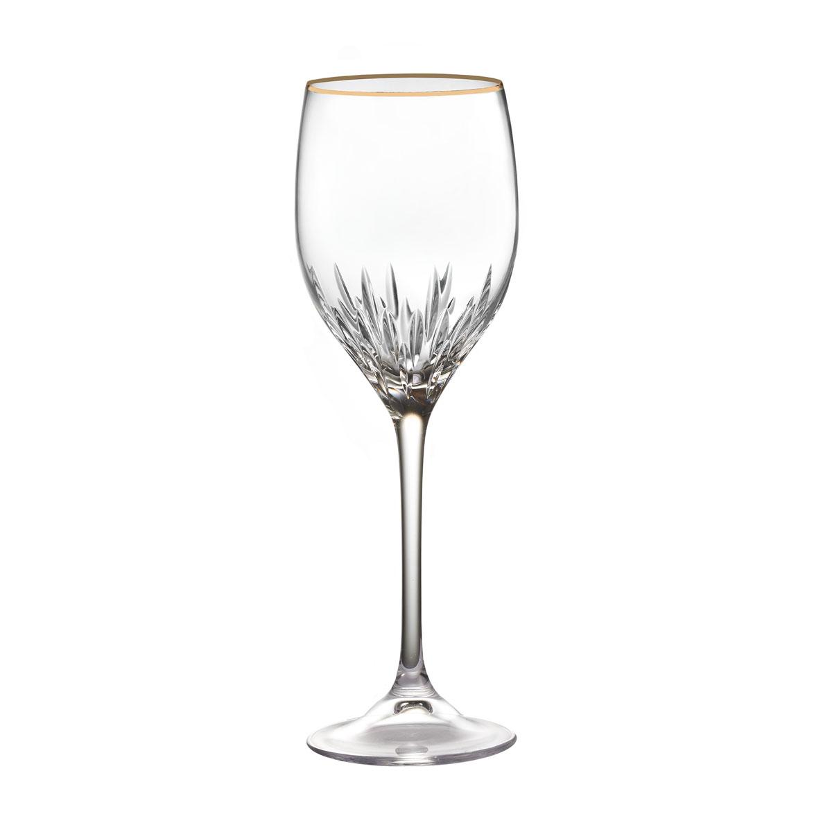 Vera Wang Wedgwood, Duchesse Gold Crystal Wine, Single