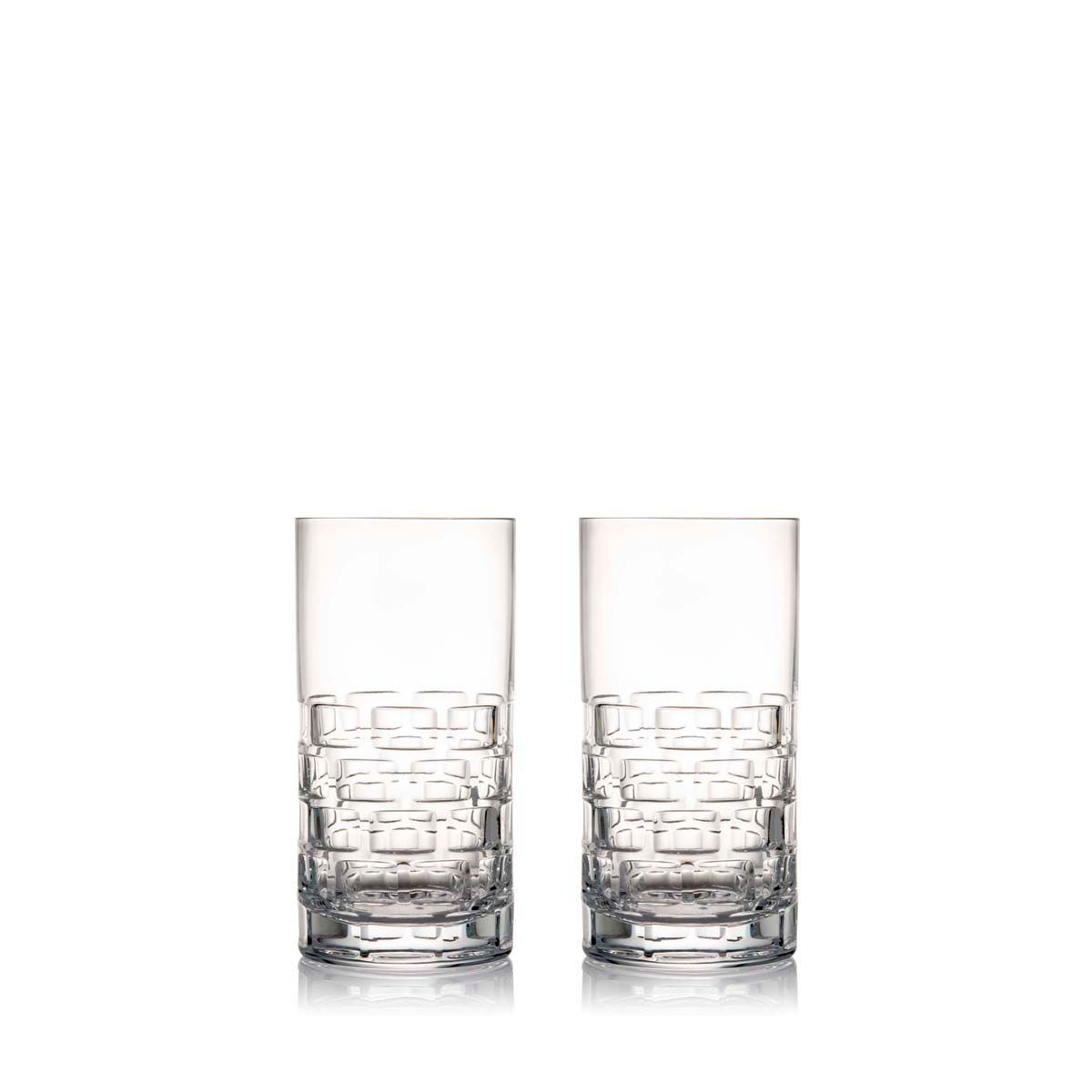 Rogaska Crystal, Maison Crystal Hiball, Pair