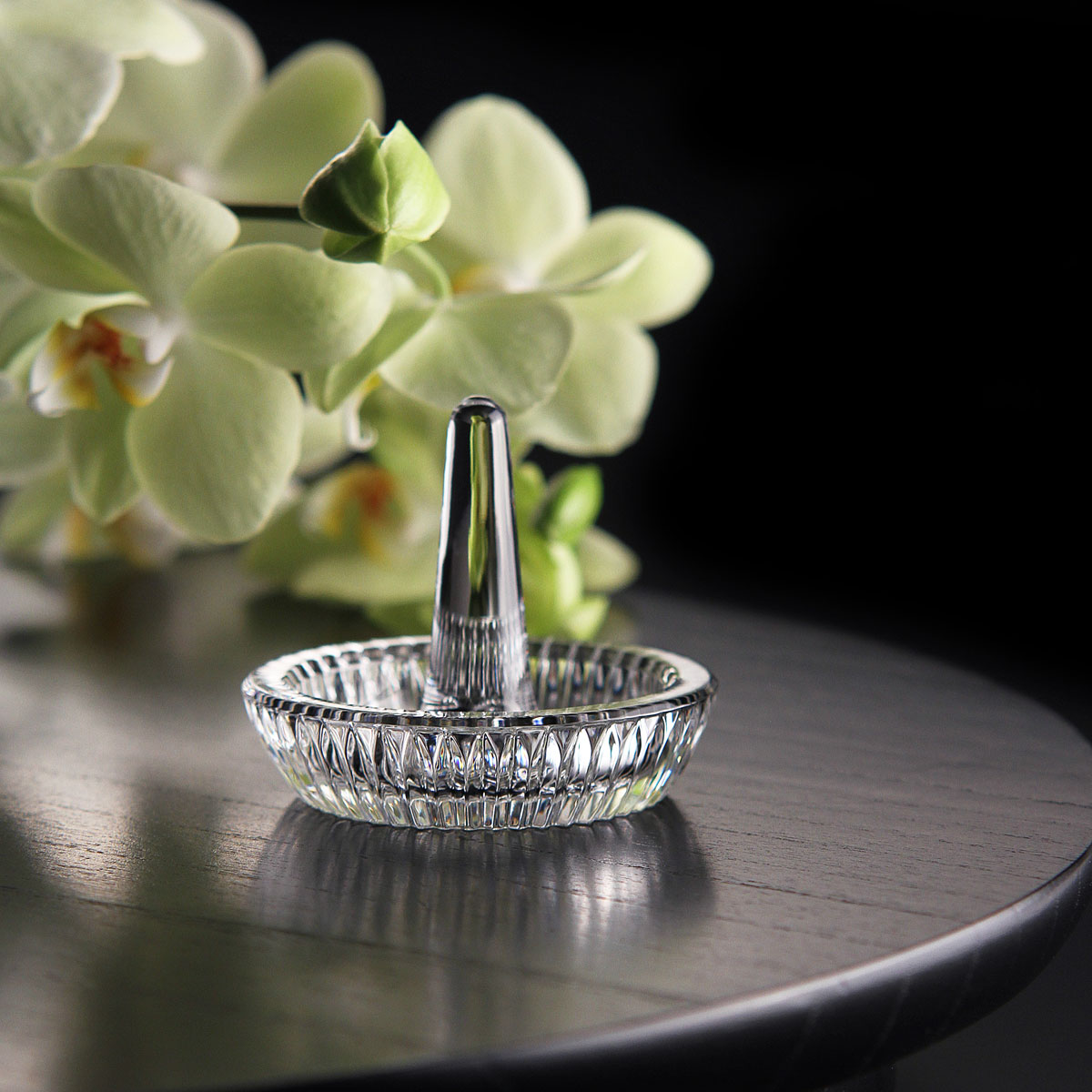 Waterford Crystal Round Ring Holder