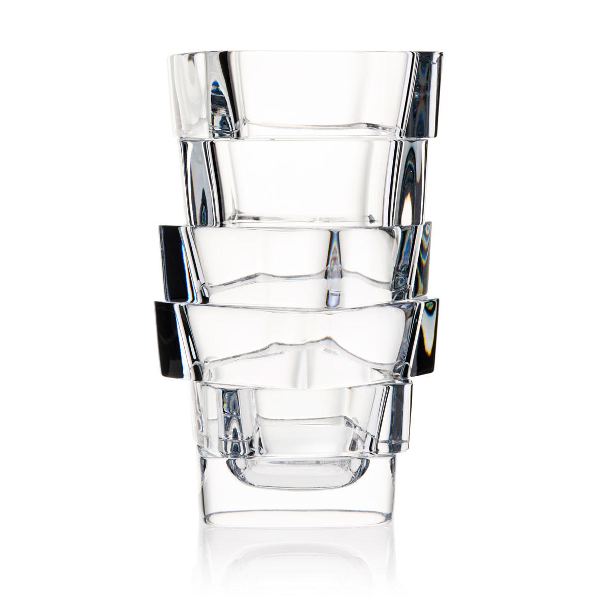 "Rogaska Superior Vase 10.6"""