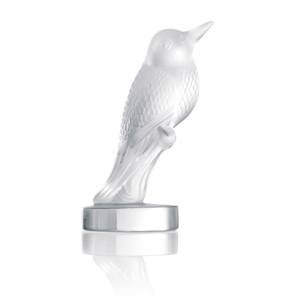 Lalique Crystal, Hummingbird Sculpture