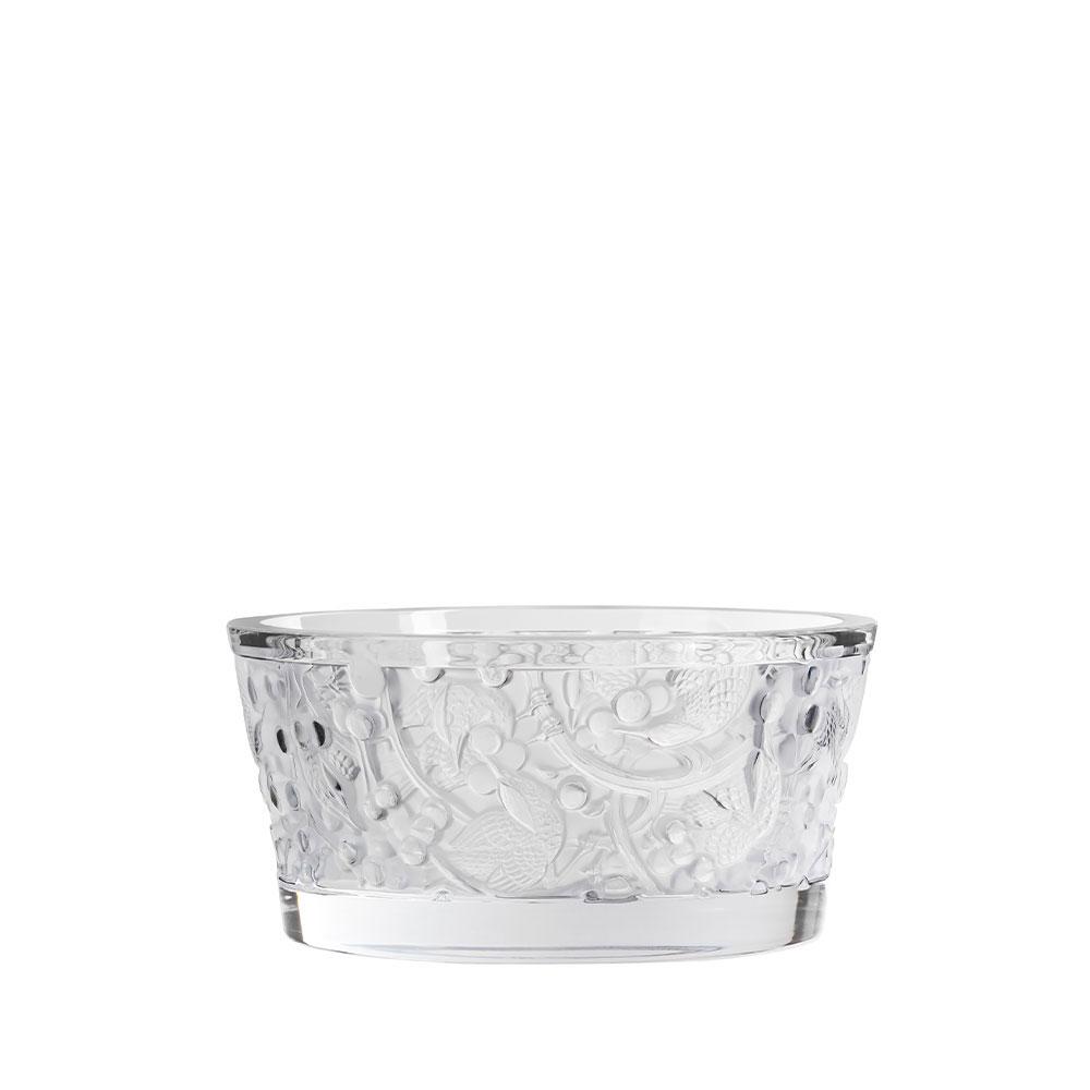 """Lalique Merles et Raisins 9.5"""" Bowl, Clear"""