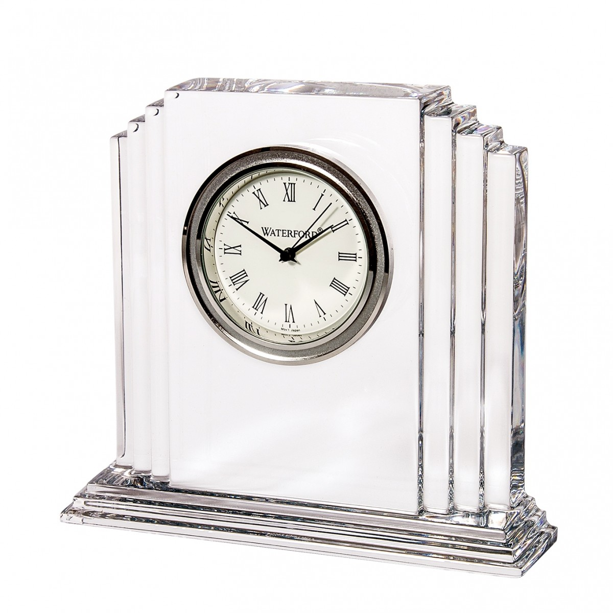Waterford Metropolitan Medium Crystal Clock