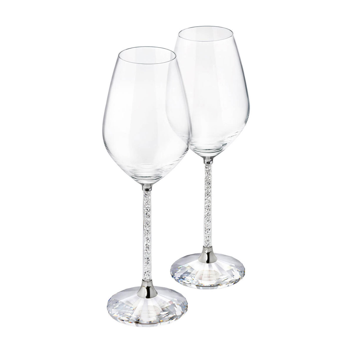 Swarovski Crystalline Wine Glasses Pair