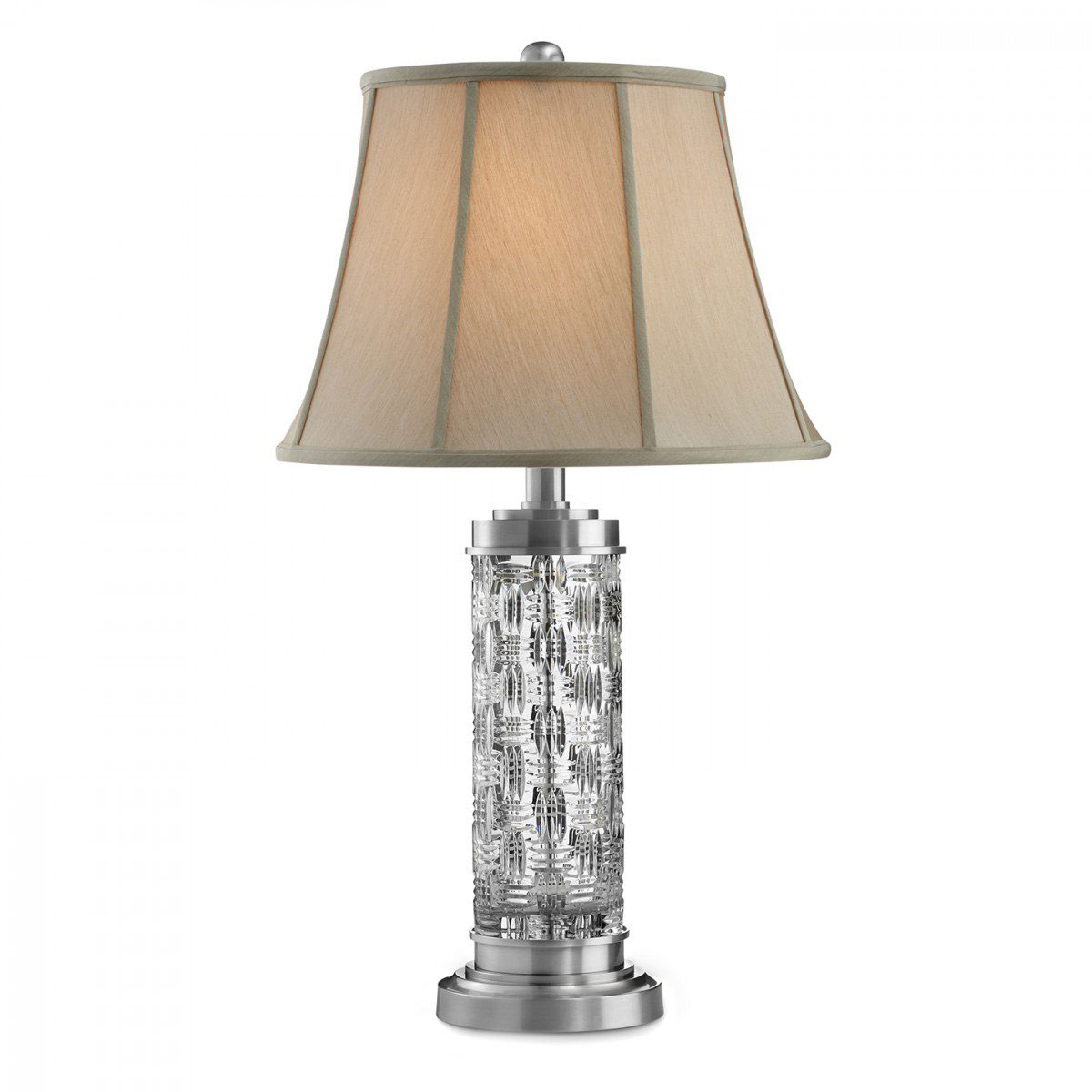 "Waterford Crystal, Grafix 30 1/2"" Table Lamp"