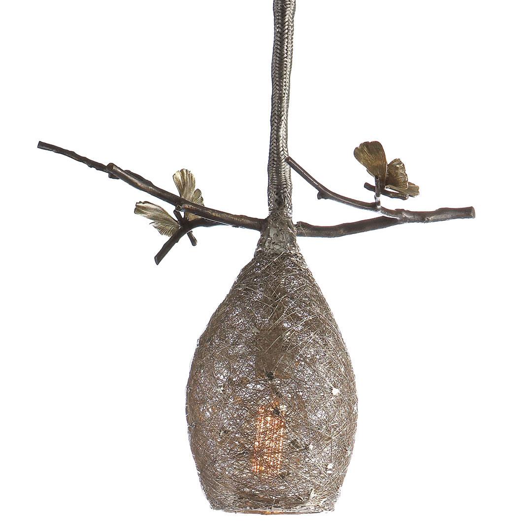 "Michael Aram Cocoon 14 1/2"" Pendant Lamp"