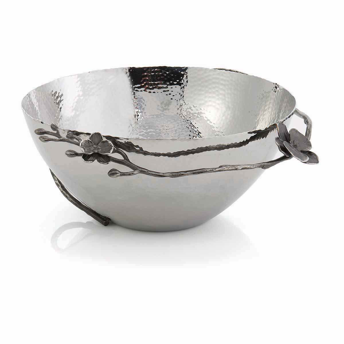 "Michael Aram Black Orchid 13"" Bowl"